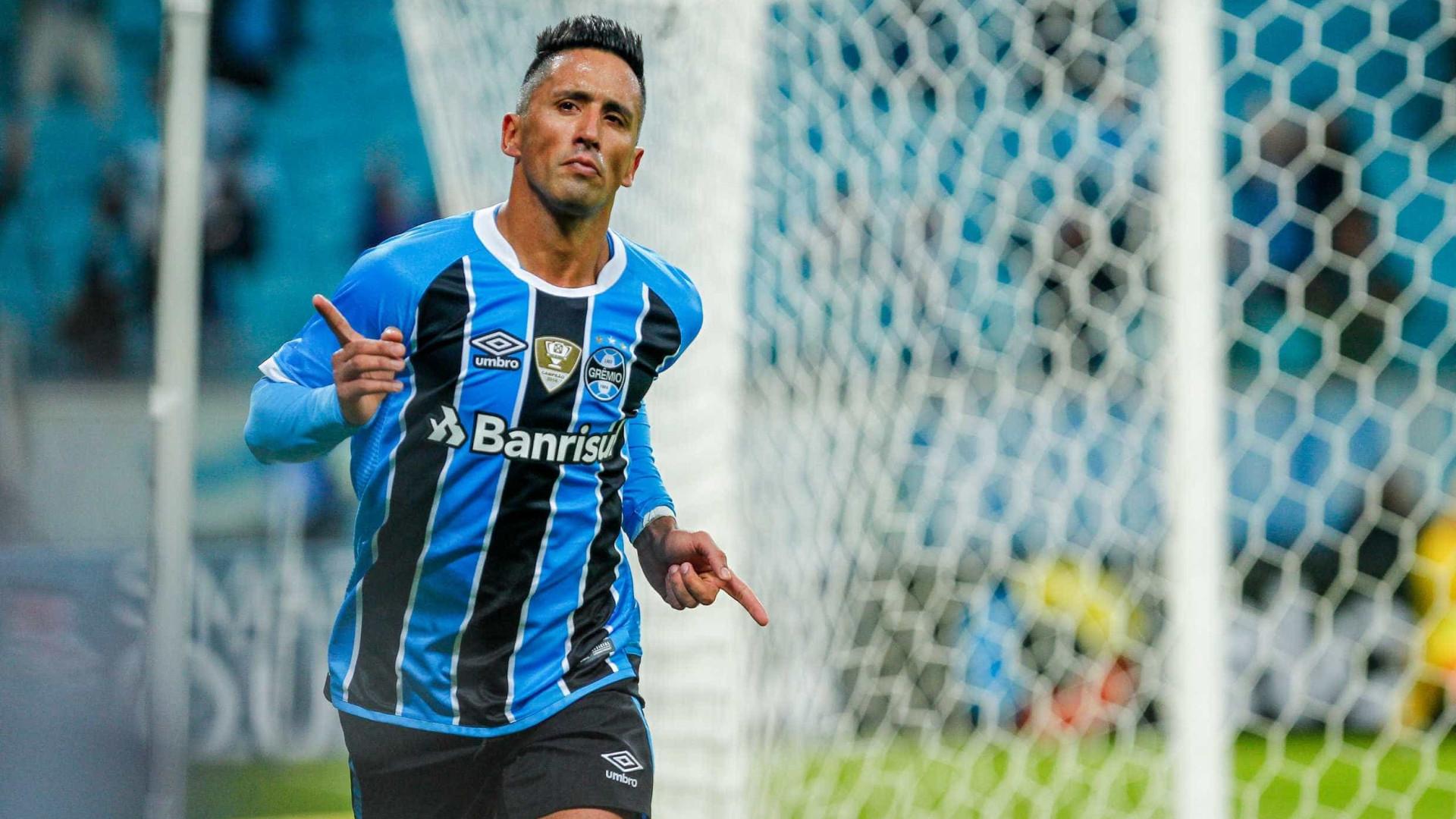Barrios vira artilheiro e peça-chave do Grêmio em 15 jogos