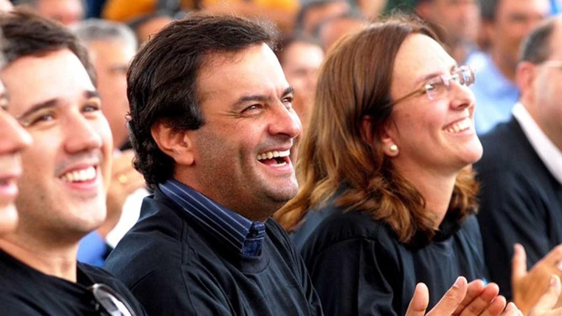 Andrea Neves foi a grande estrategista do irmão
