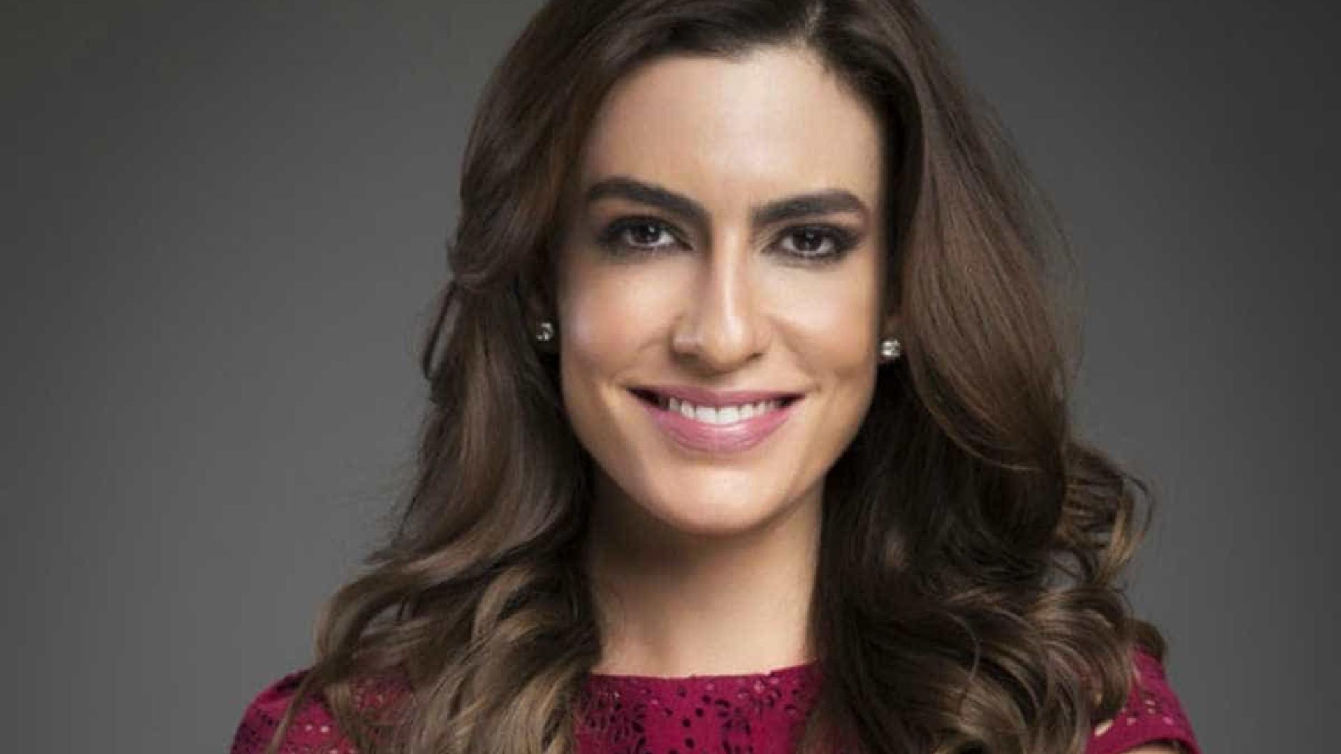 SBT decide sobre futuro de Ticiana Villas Boas  na emissora