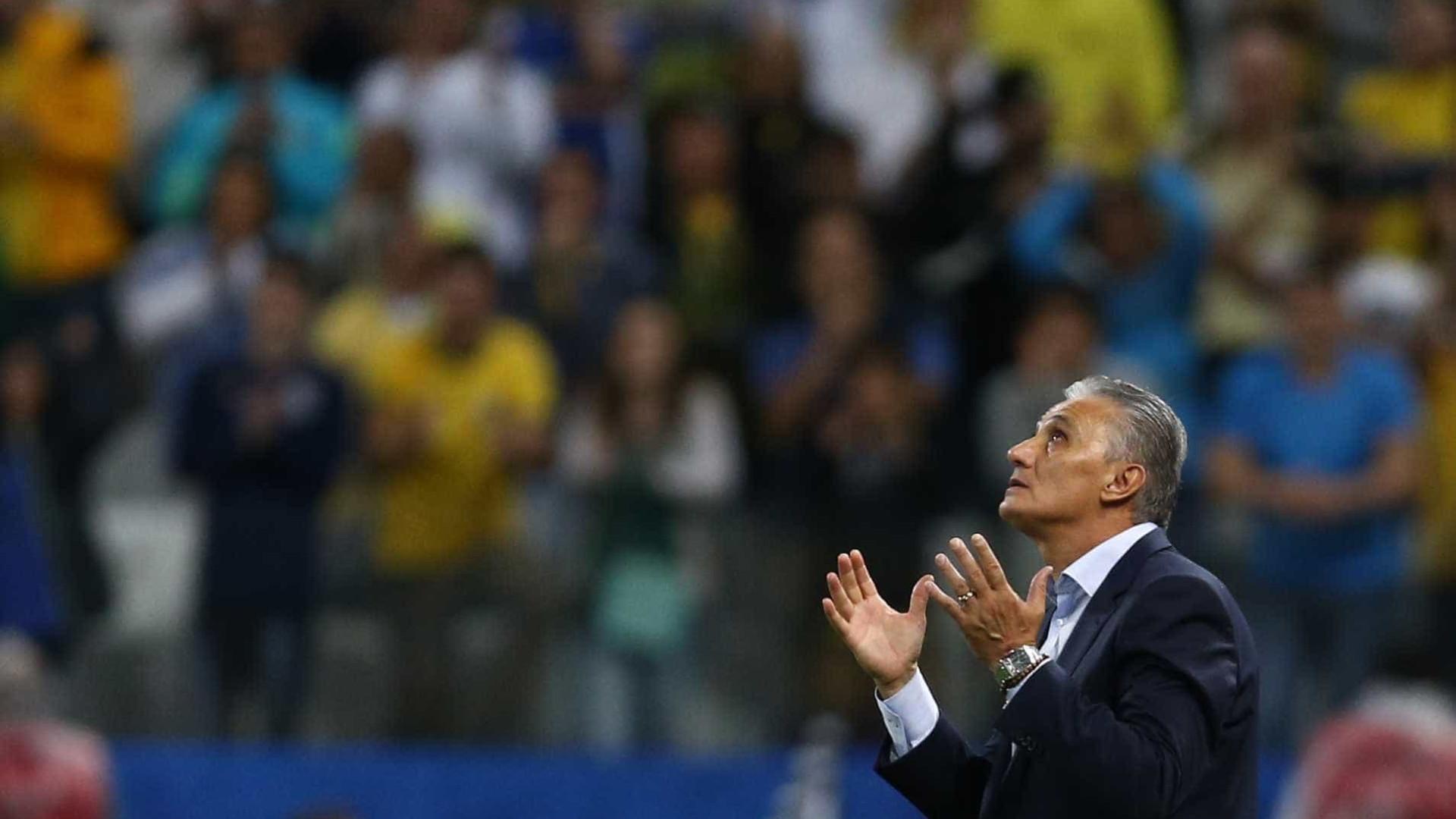 Tite convoca seleção brasileira nesta sexta-feira