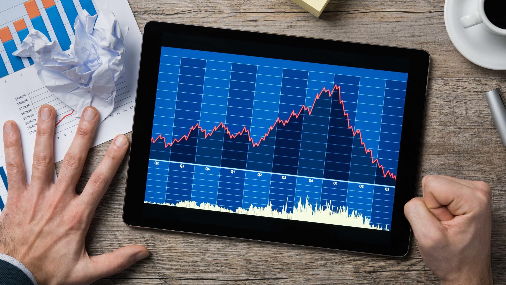 Bolsa cai pelo 5º dia com cautela antes de reuniões de bancos centrais