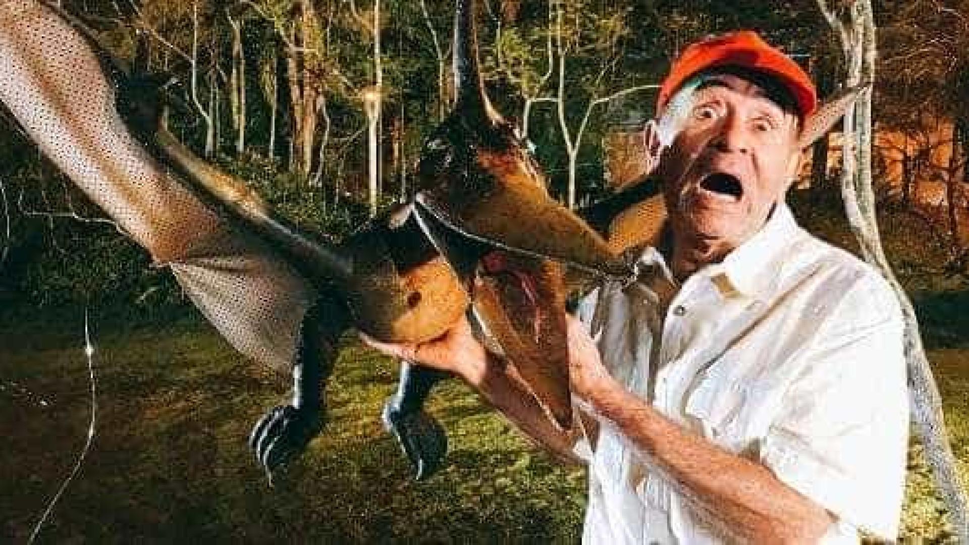 Nova pegadinha de Silvio faz drone de dinossauro voar e assustar
