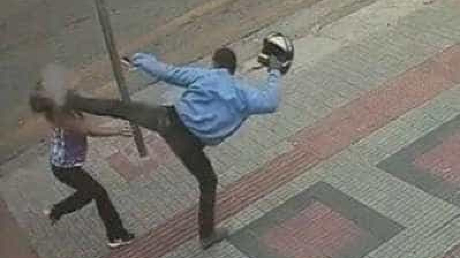 Mulher é agredida com chute no rosto durante assalto em Belo Horizonte