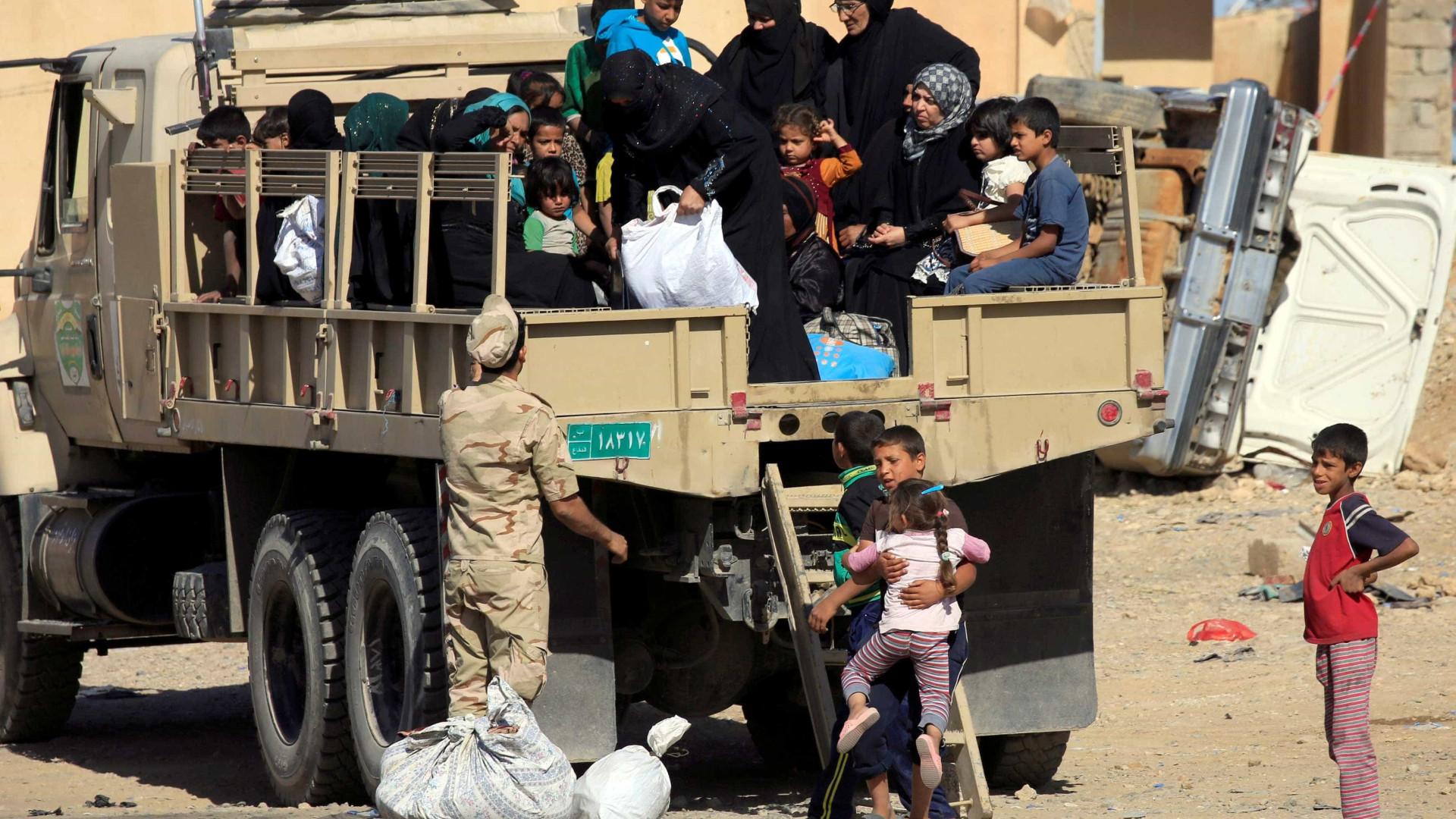 Mais de meio milhão de pessoas deixaram Mossul nos últimos meses
