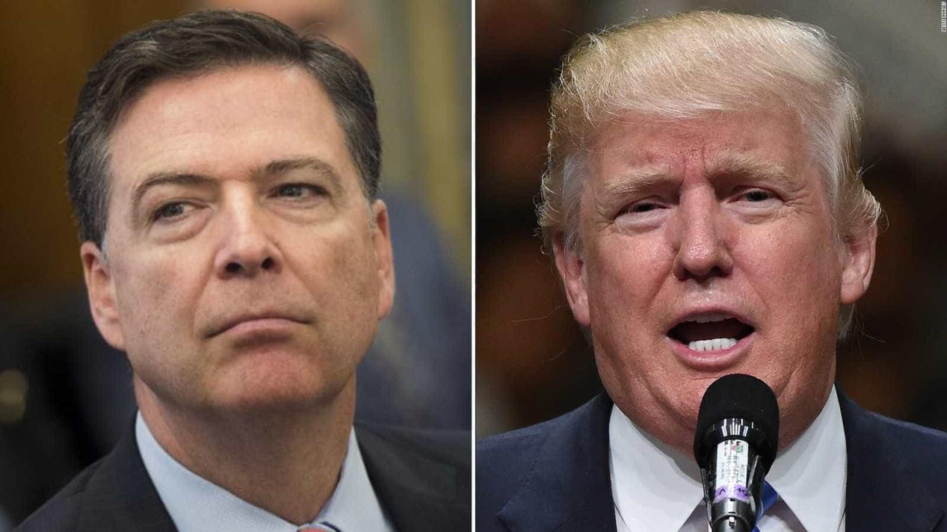 Ex-diretor do FBI é 'louco',  disse Trump a chanceler russo