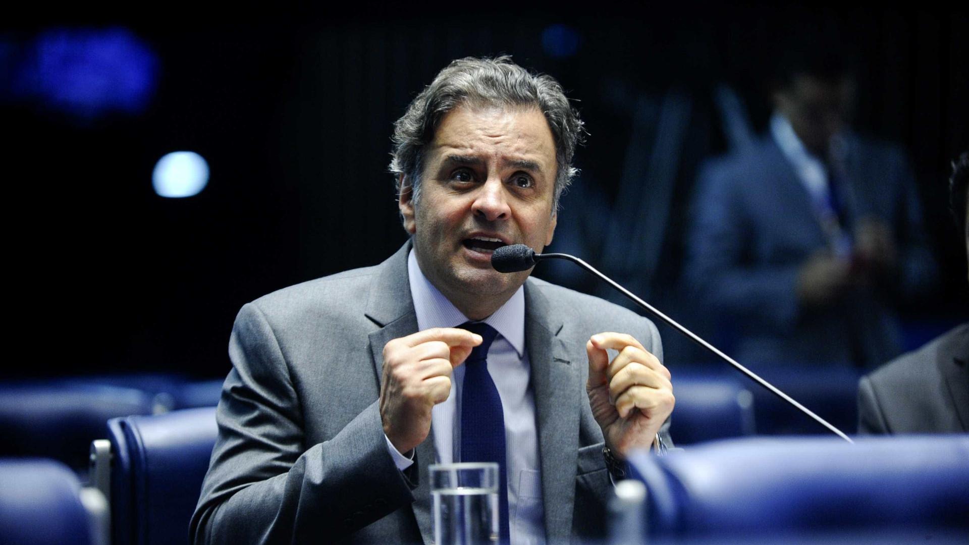 STF quebra sigilo fiscal e bancário de Aécio Neves desde 2014