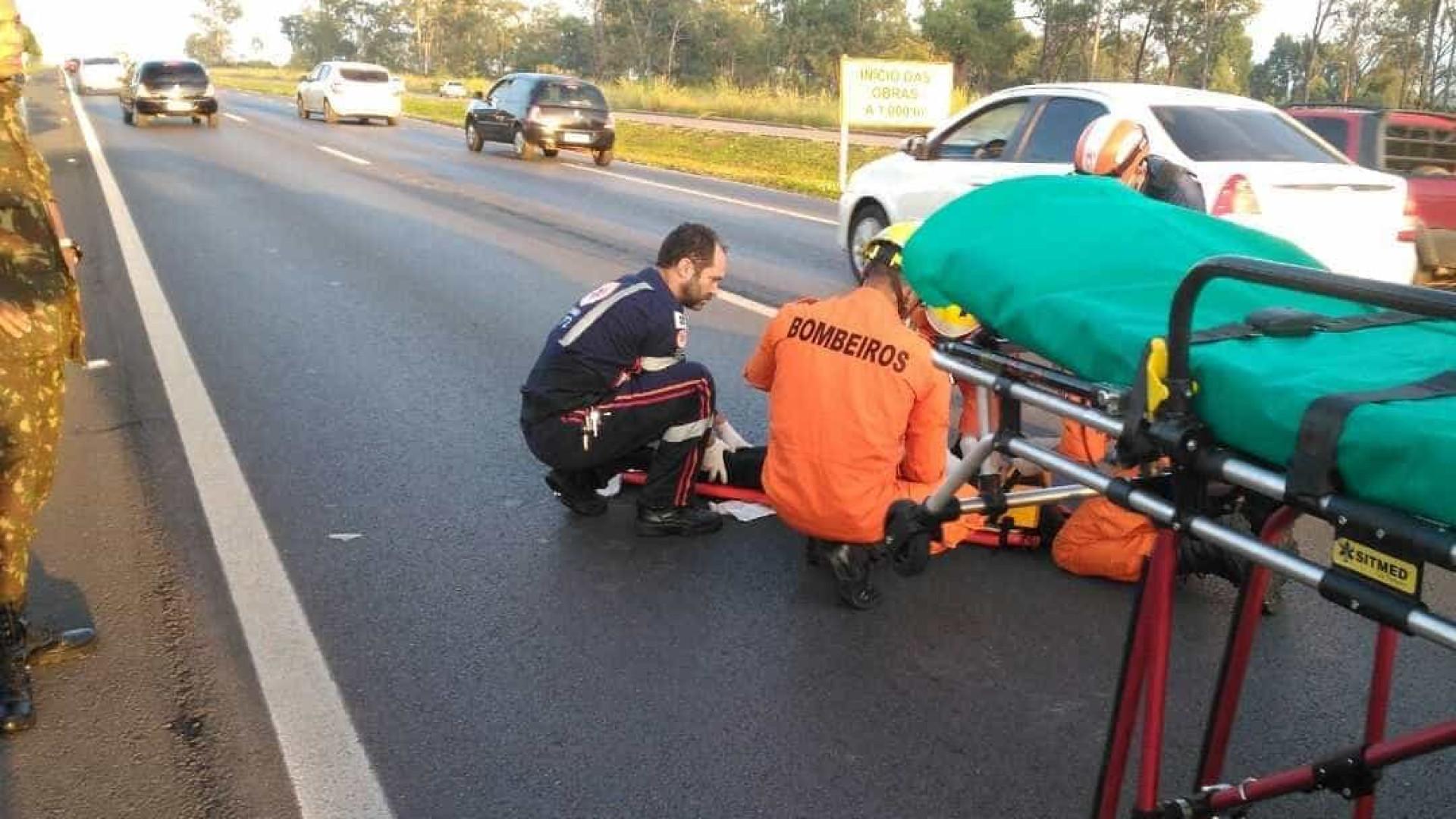 Militar do Exército atropela duas adolescentes em rodovia do DF