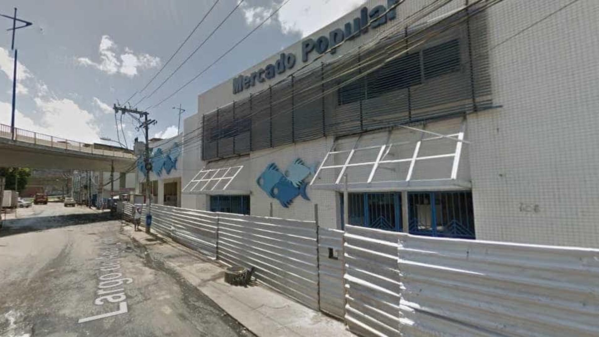 Fiscalização de prefeitura termina  em tiros em mercado de Salvador