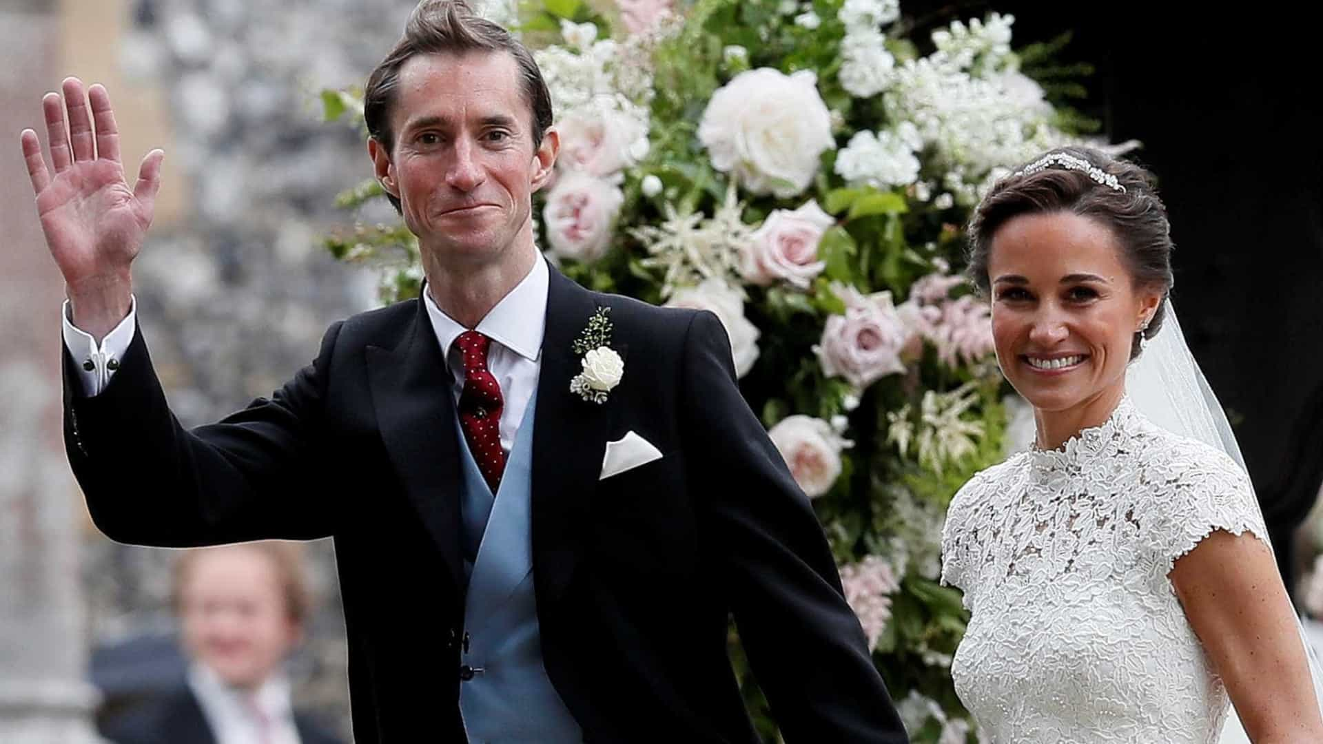 Pippa Middleton, irmã de Kate, se casa na Inglaterra