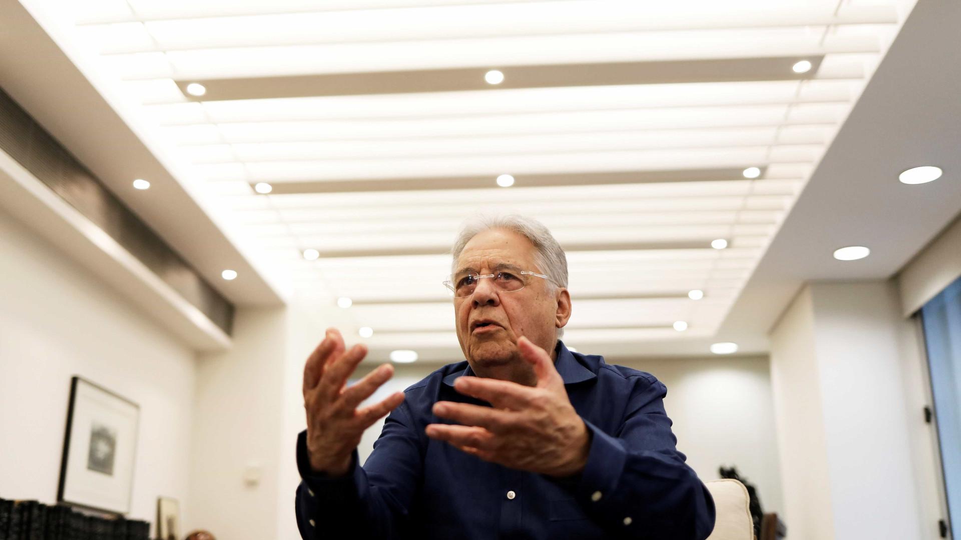 País não vai tremer se Lula for condenado, avalia Fernando Henrique