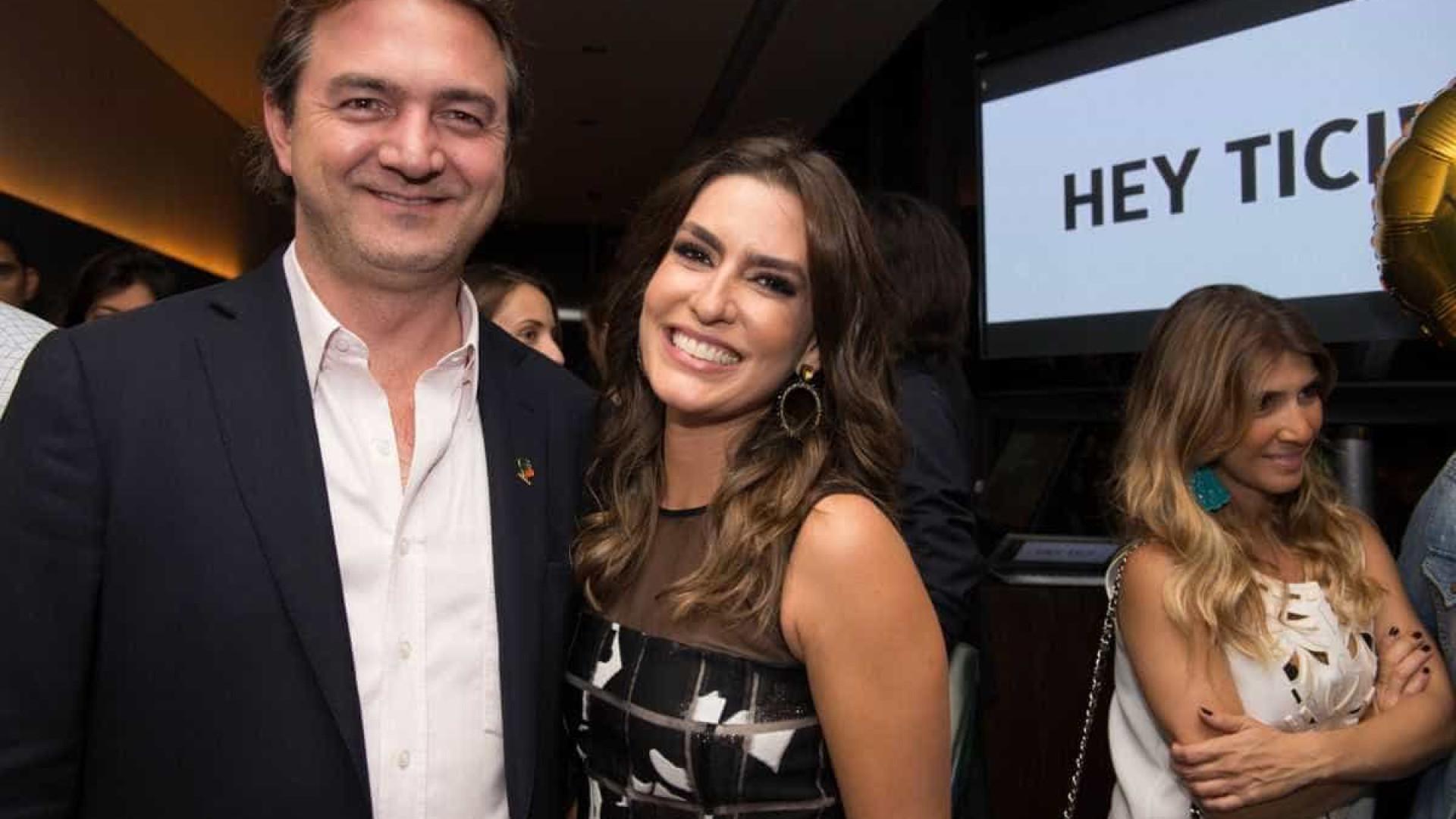 Ticiana e Joesley Batista, dono da JBS, esperam mais um filho