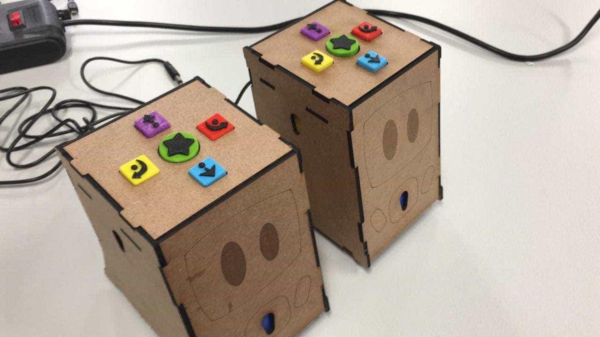 De forma lúdica, robô ajuda no aprendizado de crianças