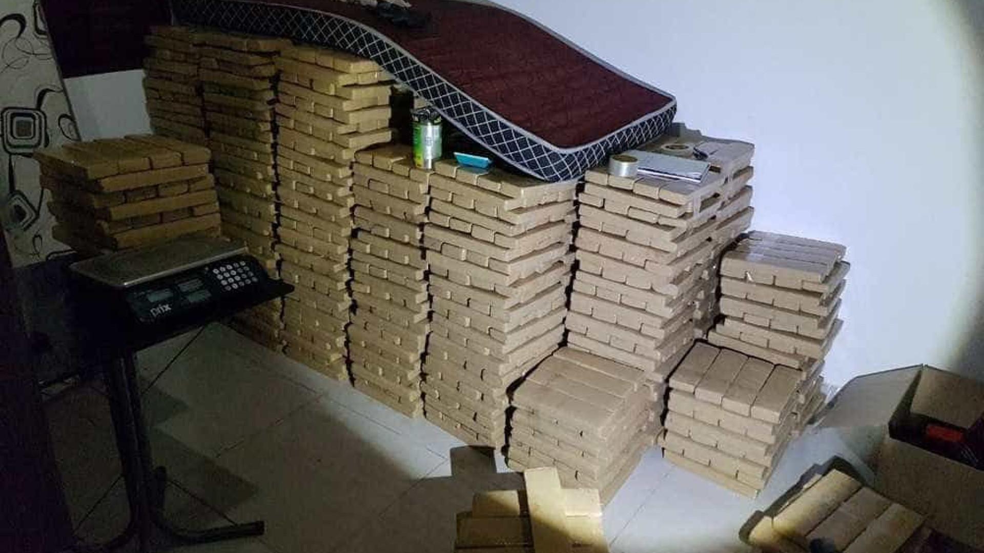 PF apreende 1,8 tonelada de  maconha em chácara em Goiás