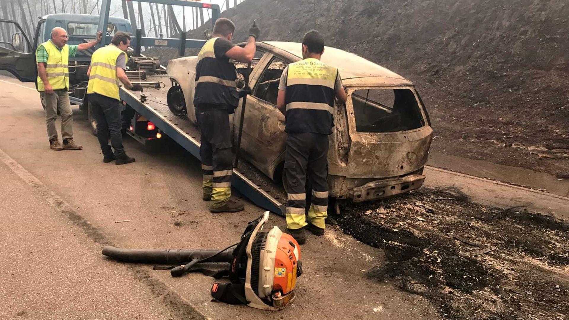 Identificadas 24 das 62 vítimas  do incêndio em Portugal