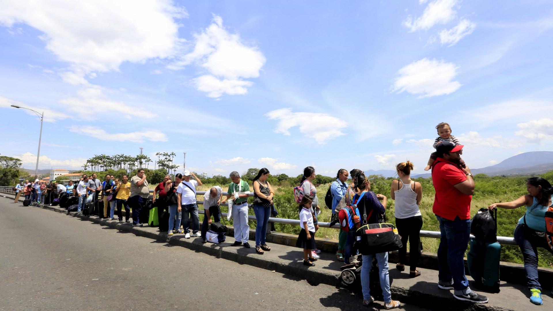 Mais da metade dos venezuelanos que cruzaram fronteira deixaram país