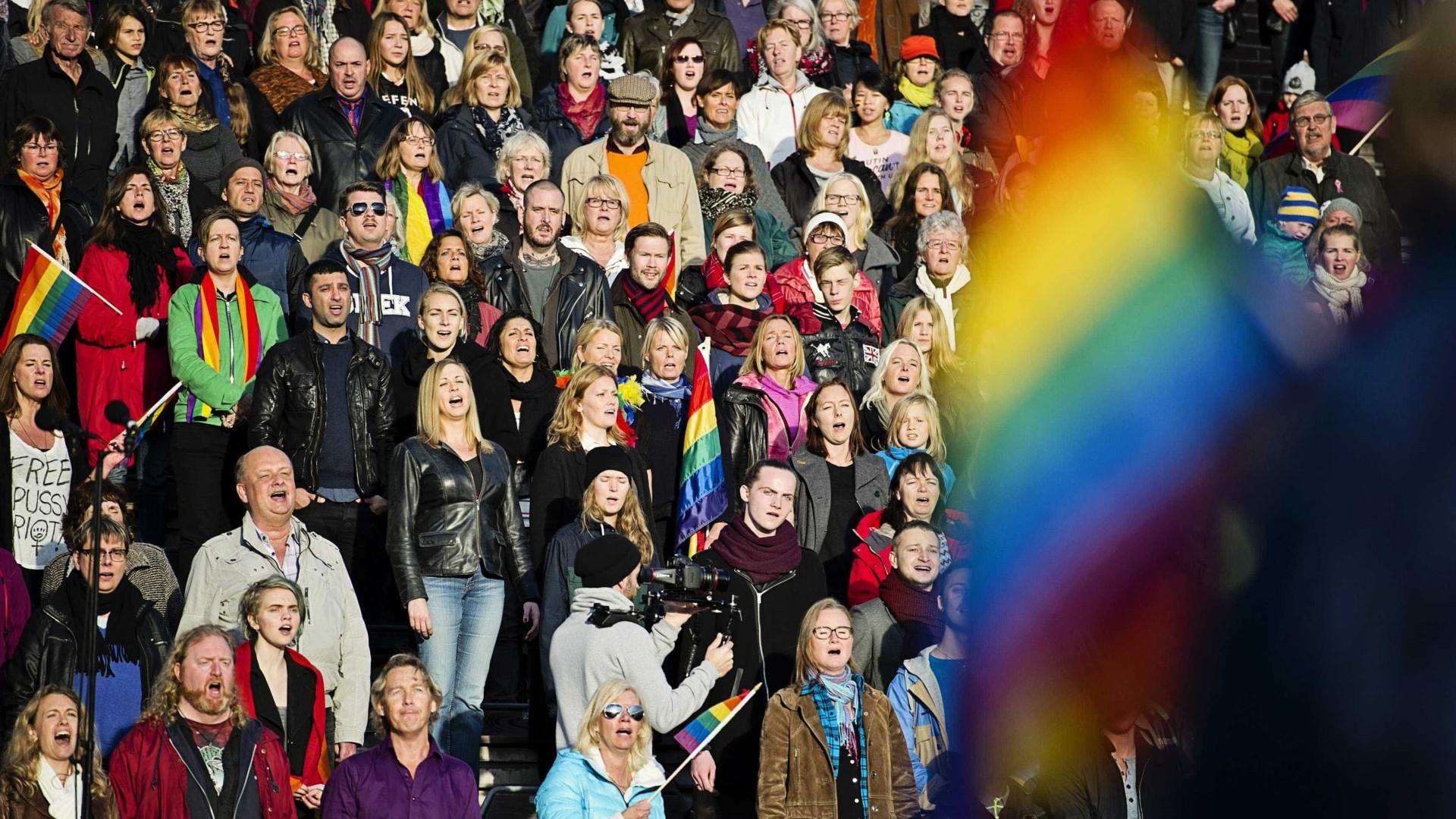 Corte Europeia critica Rússia por lei contra propaganda gay