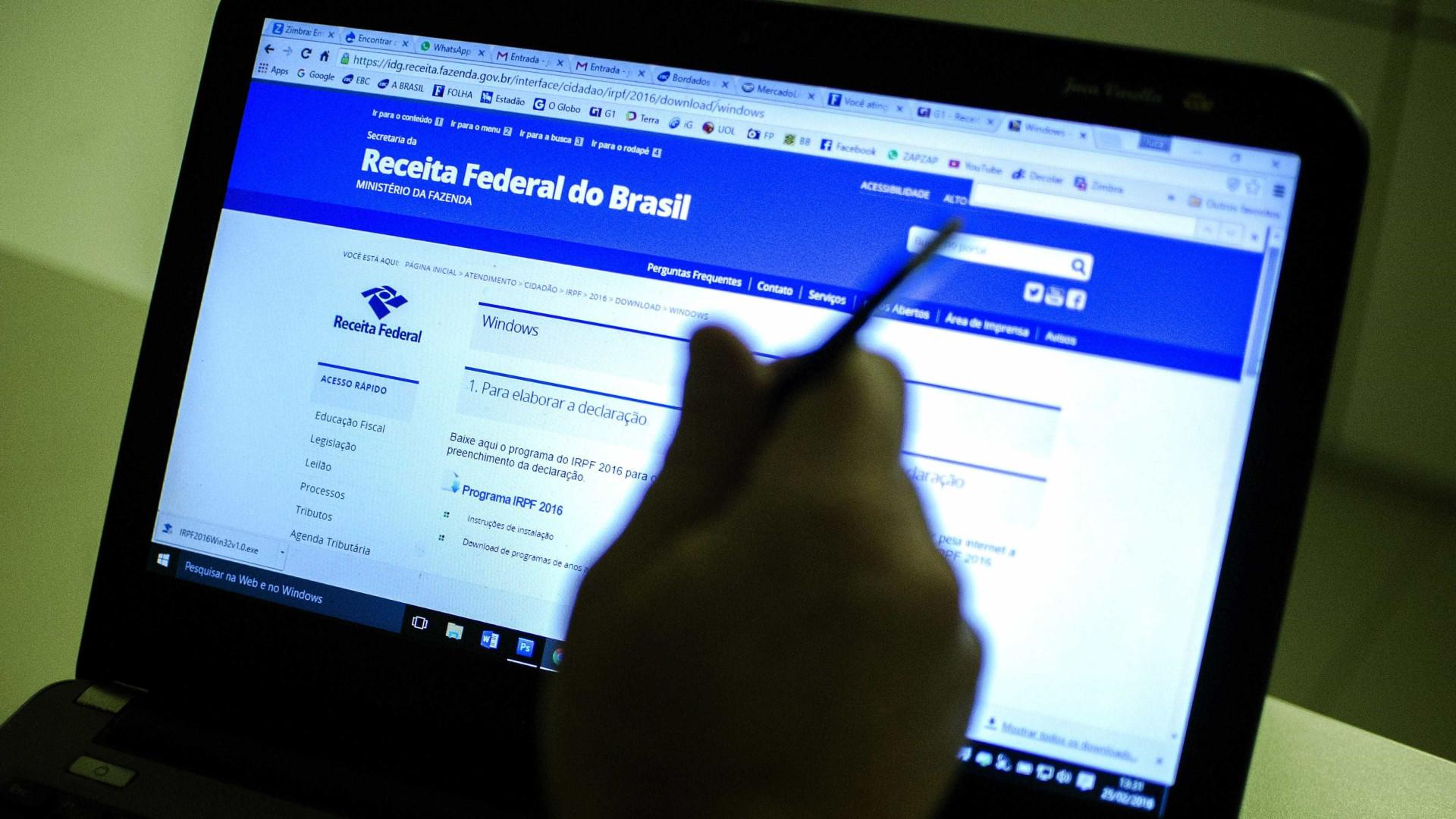 Receita abre na segunda consulta ao 5º lote de restituição do IRPF