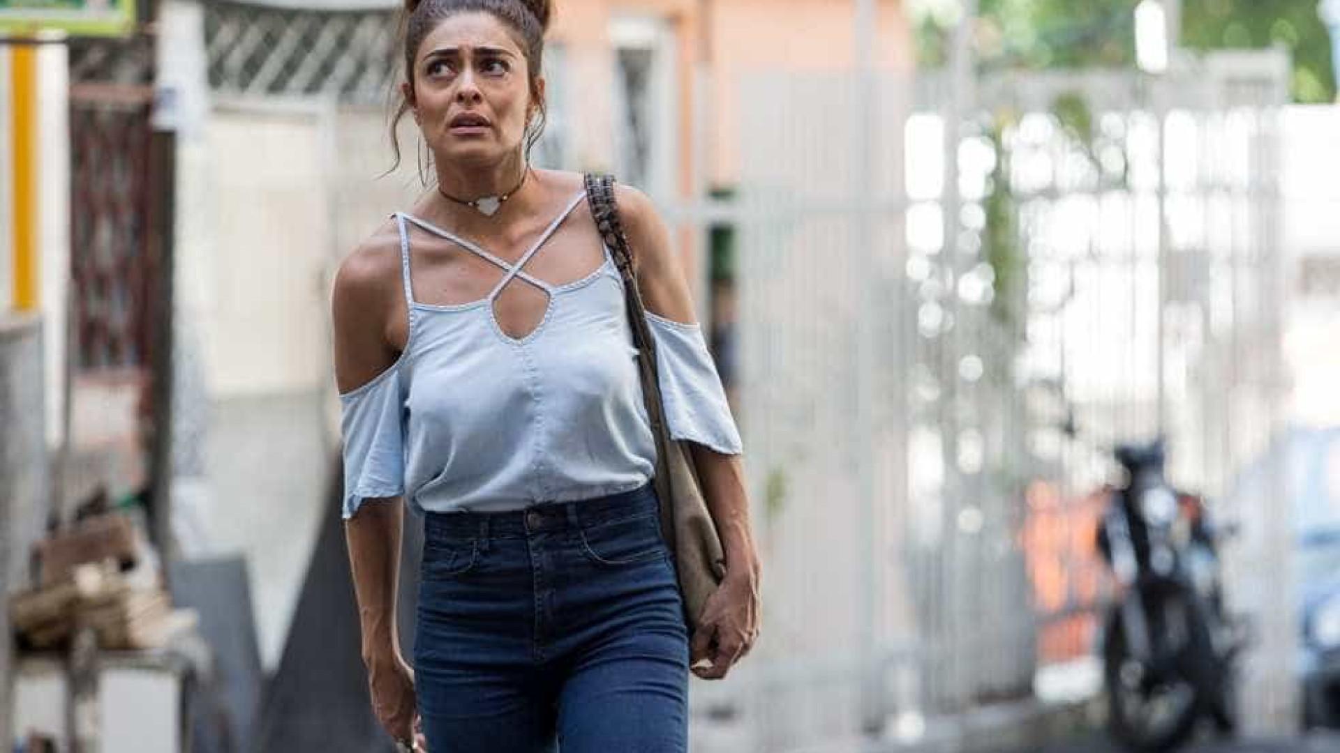 Ju Paes diz ter perdido 3 kg por causa da novela: 'Fico angustiada'