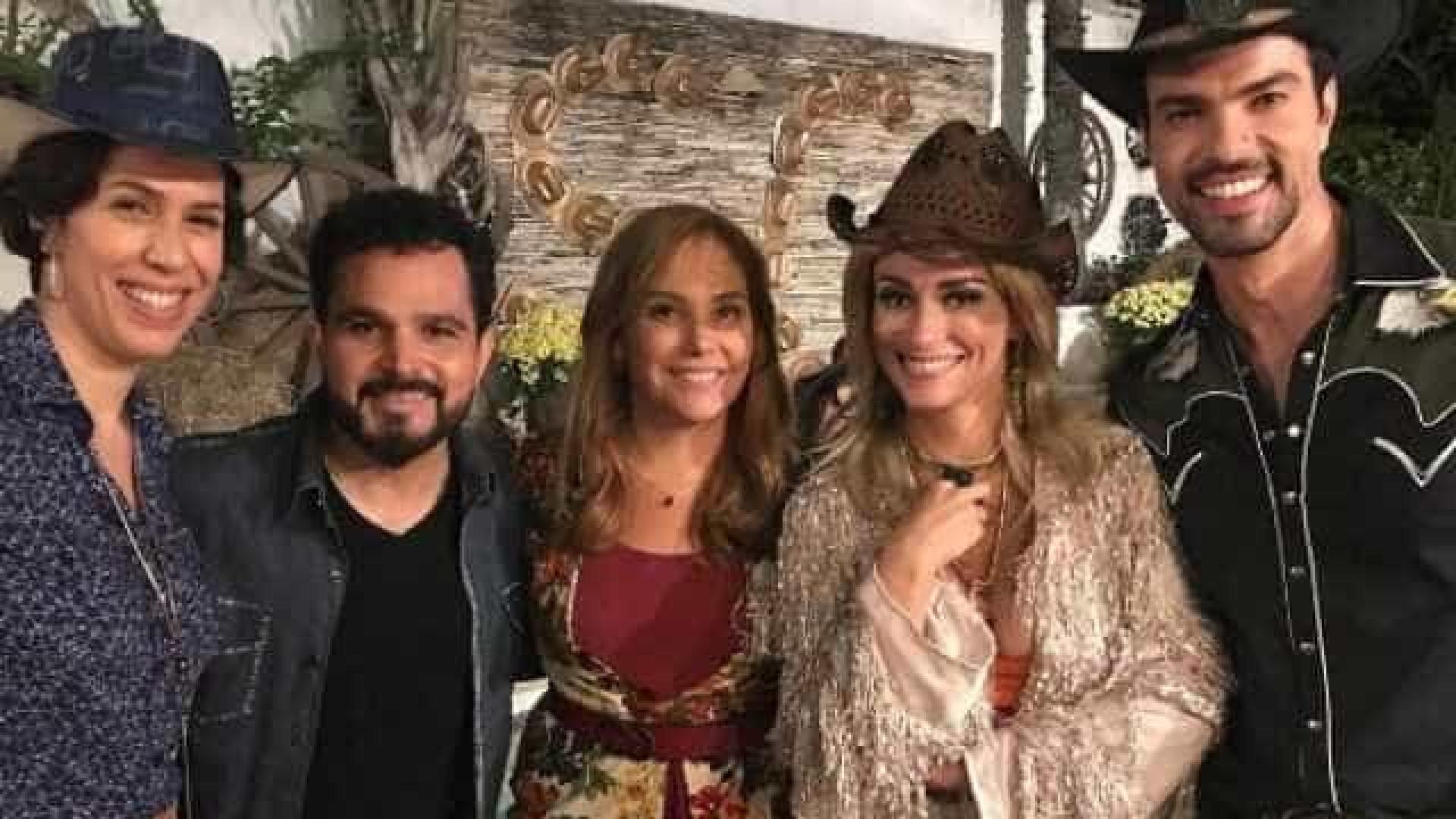 'Foi divertido', diz cantor Luciano sobre atuar em série do Multishow