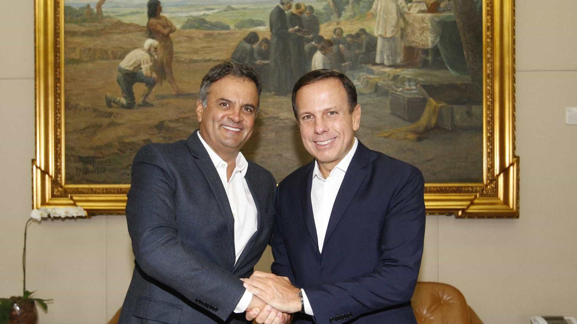 'O DEM é partido de grande valor', afirma Doria em Belo Horizonte