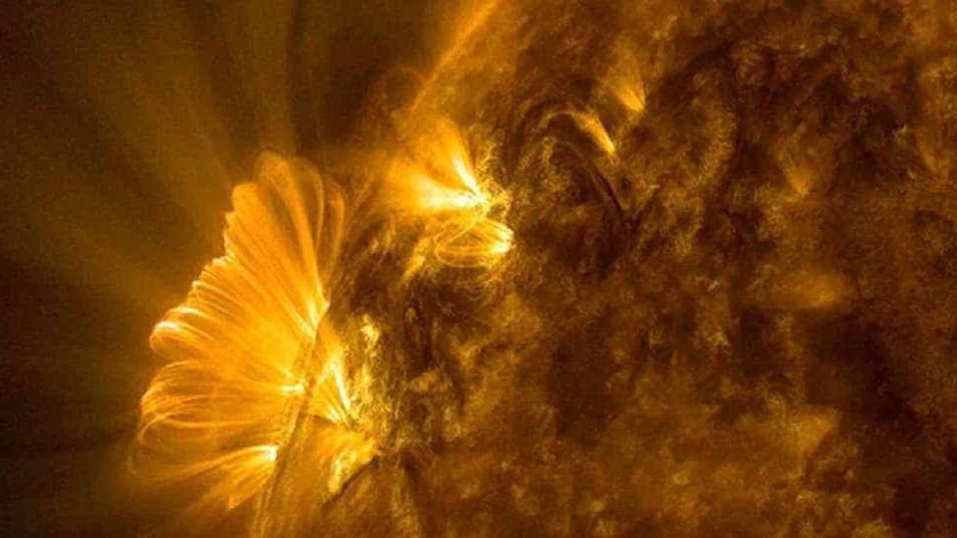 Nasa encontra mancha colossal no Sol