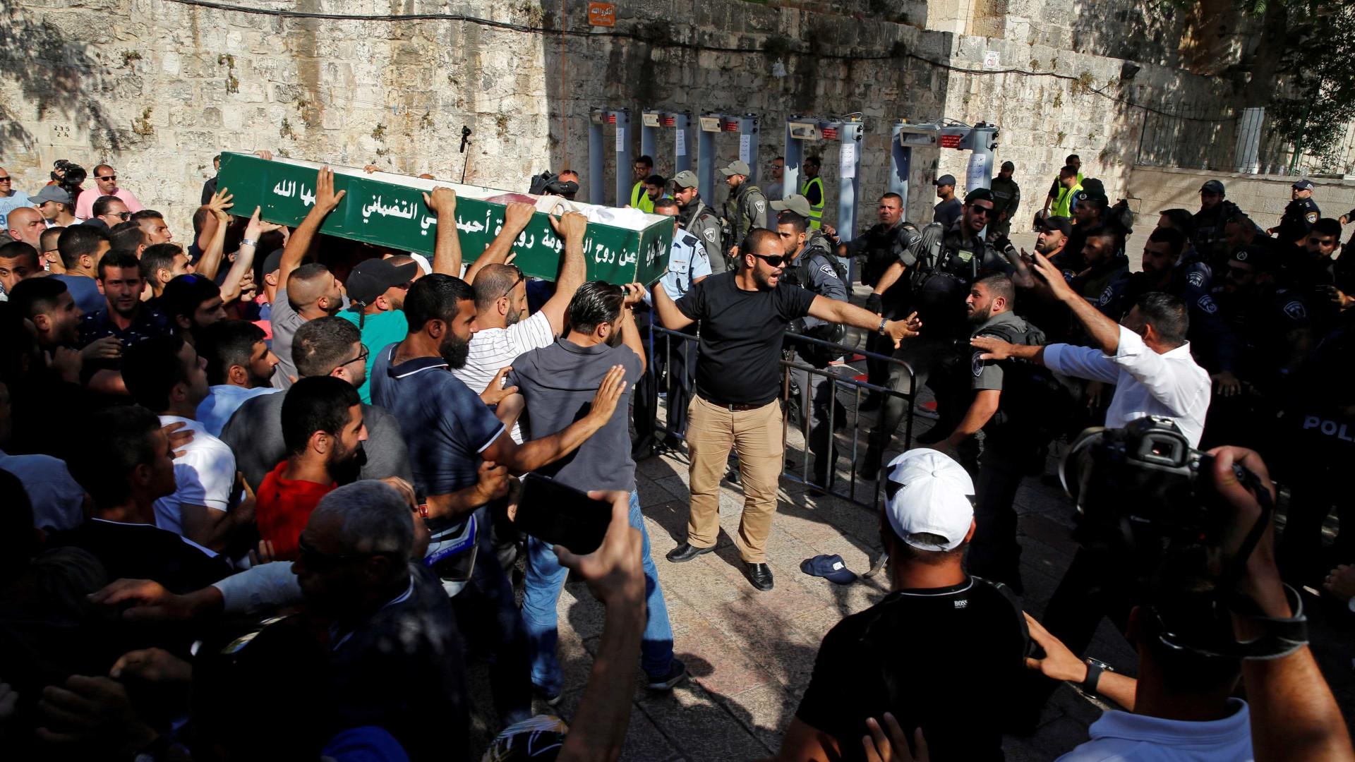 Exército de Israel mata palestino durante  operação na Cisjordânia