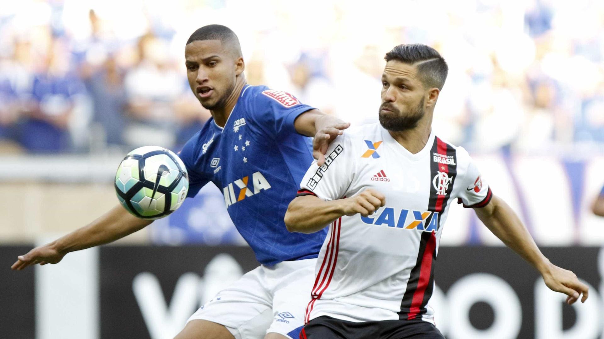 Cruzeiro e Fla empatam na volta de  Everton Ribeiro ao Mineirão