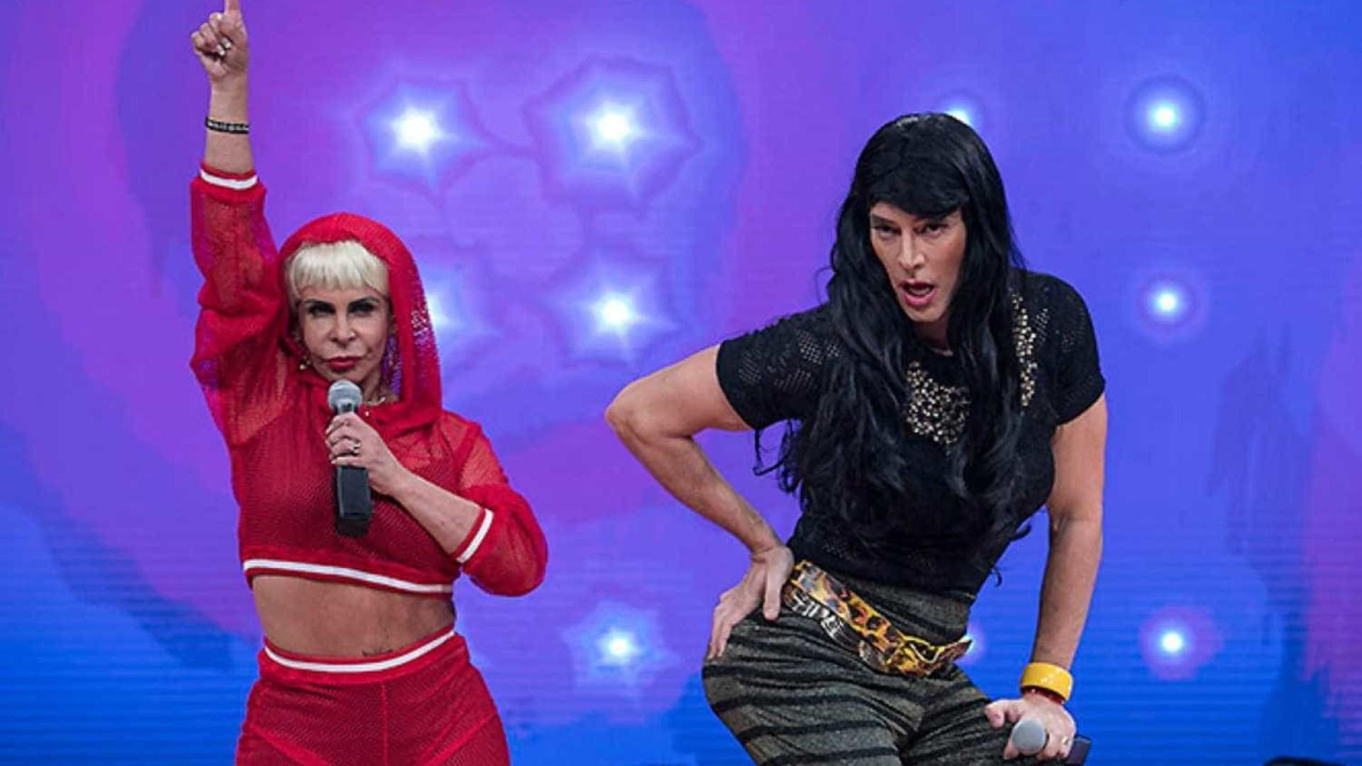 Faro celebra Gretchen e promete encontro entre ela e Katy Perry na TV