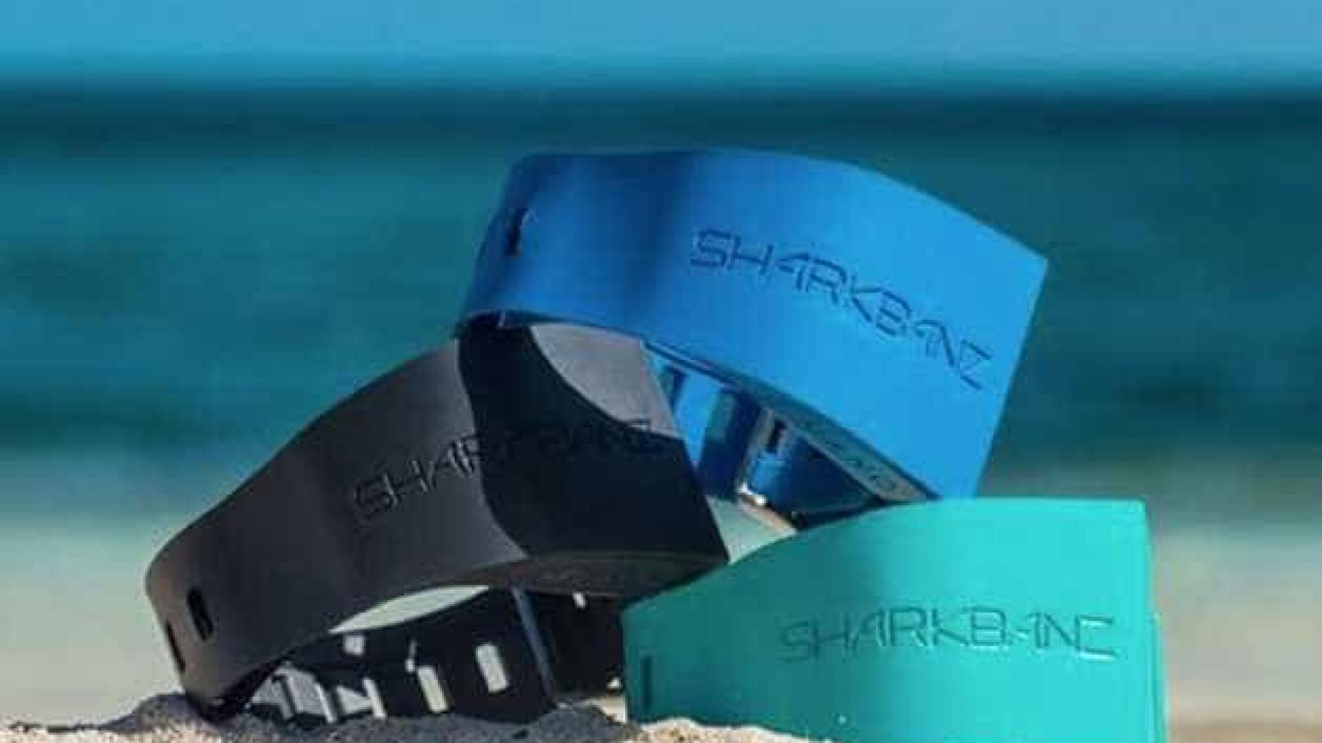 Pulseira protege surfistas e banhistas do ataque de tubarões