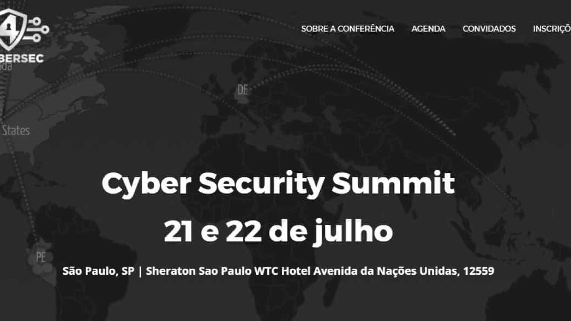 SP vai receber primeira conferência de cibersegurança summit