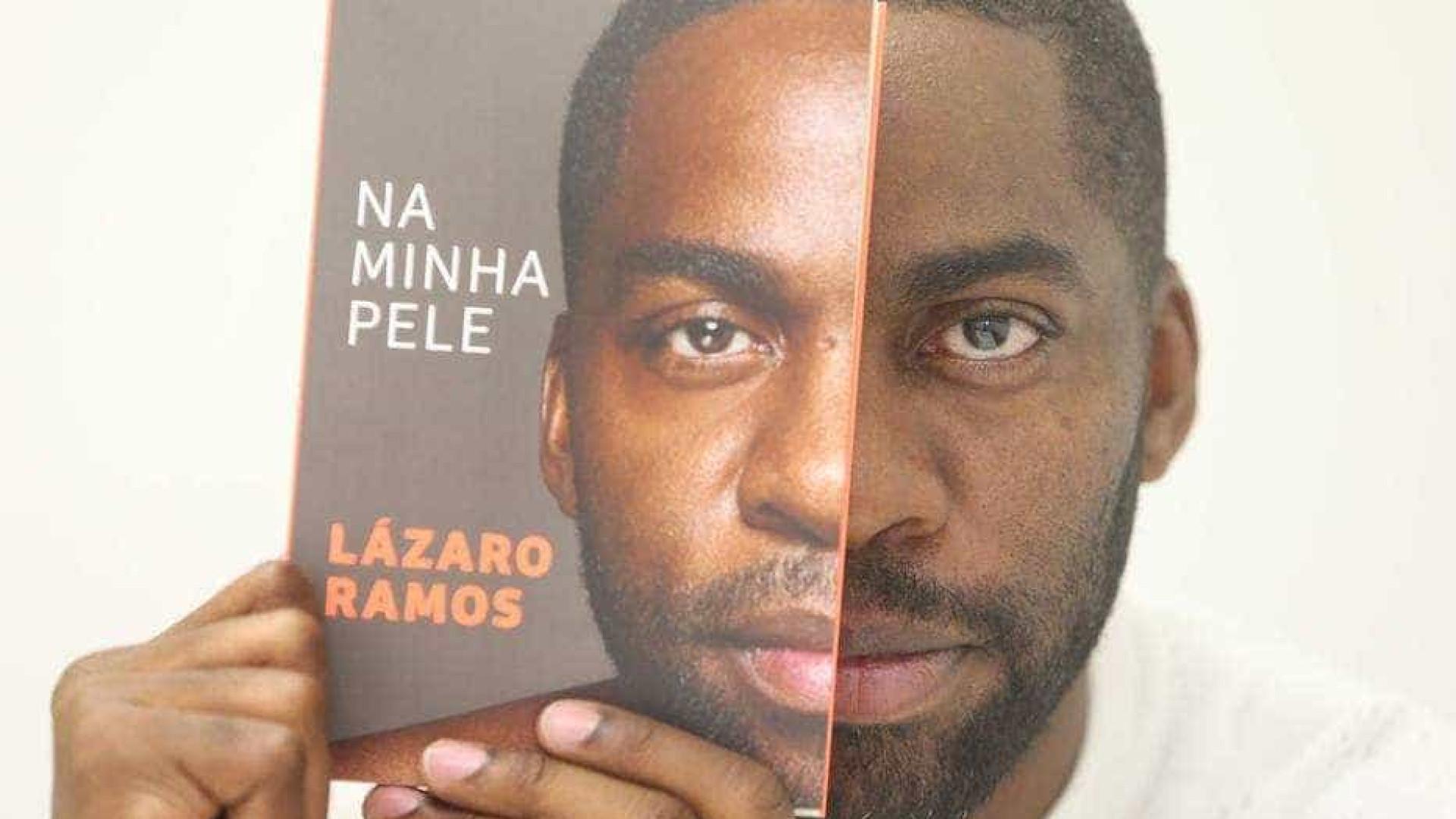 Primeiro livro de Lázaro Ramos entra na lista dos mais vendidos