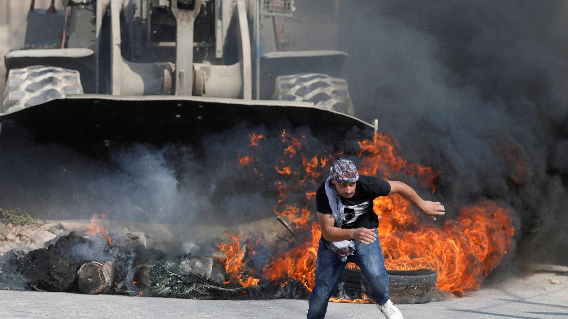 Protestos em Gaza deixam quatro mortos e vários feridos