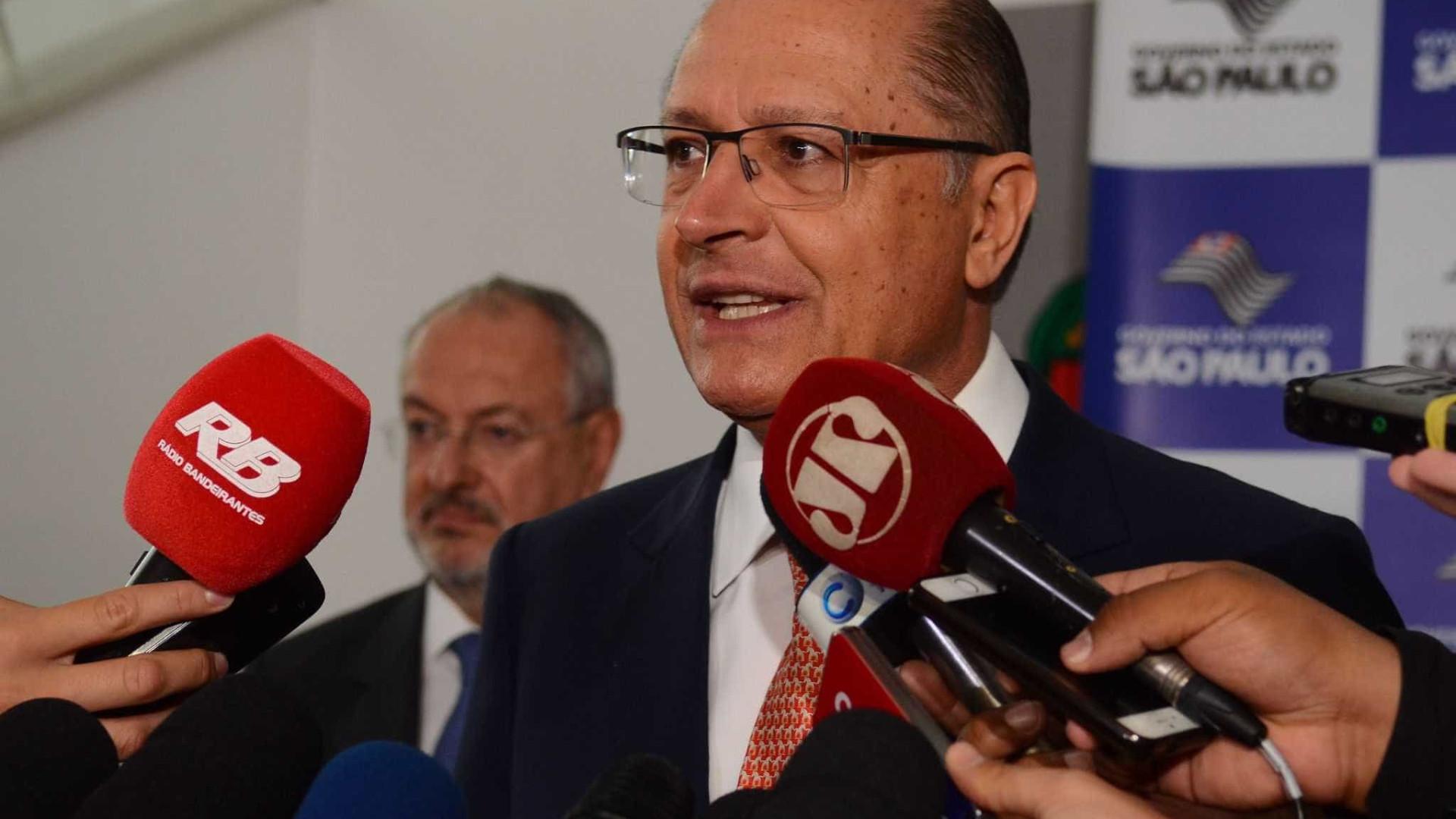 Governistas já trabalham com candidatura Alckmin