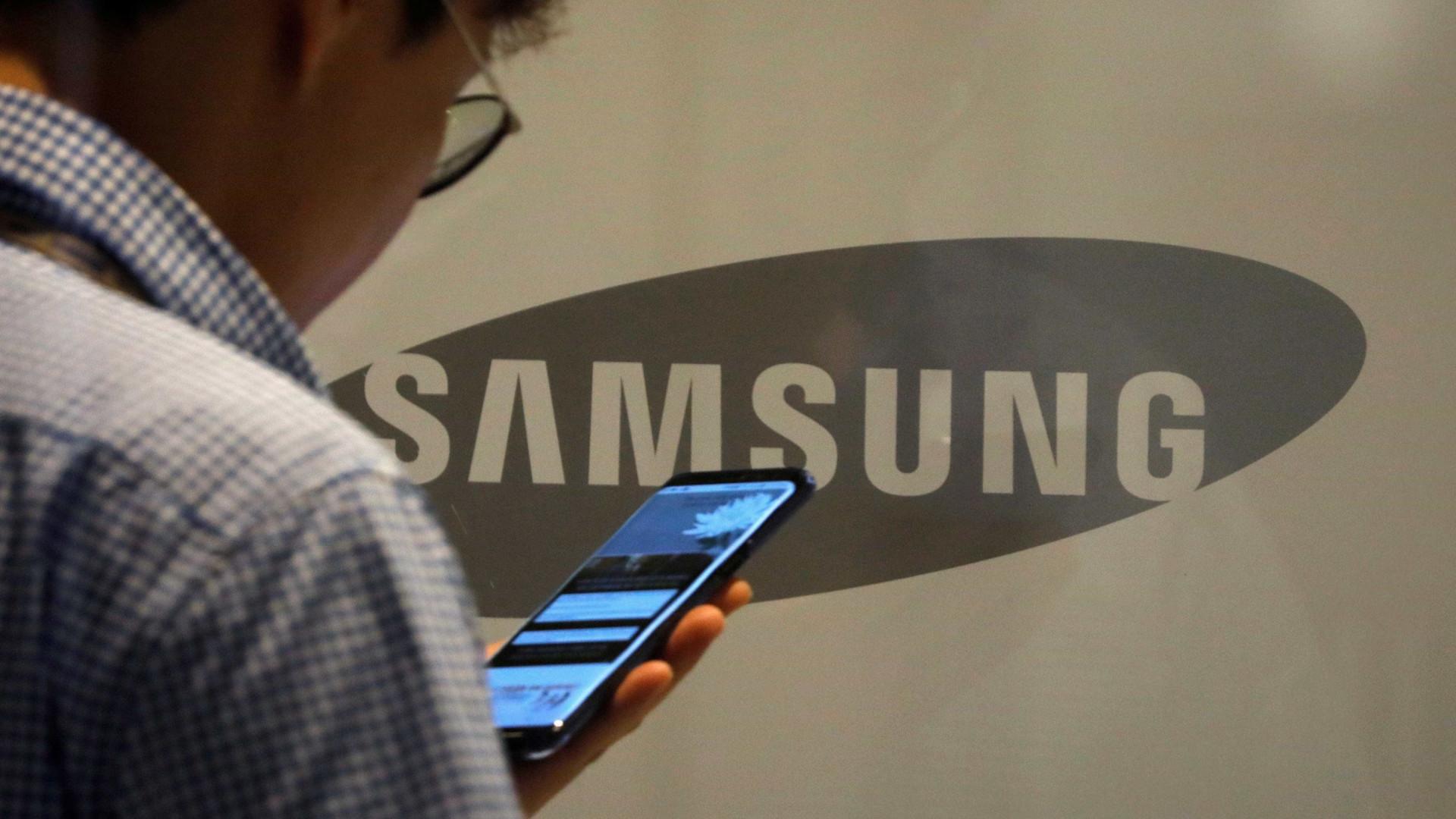 Novo Samsung pode ter a mesma opção do iPhone X
