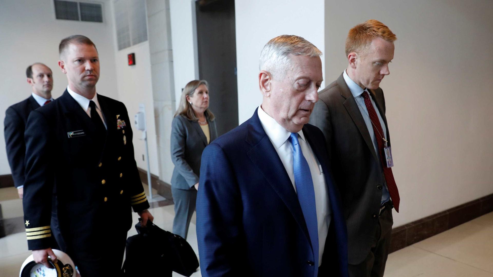 Pentágono faz novas ameaças à Coreia do Norte