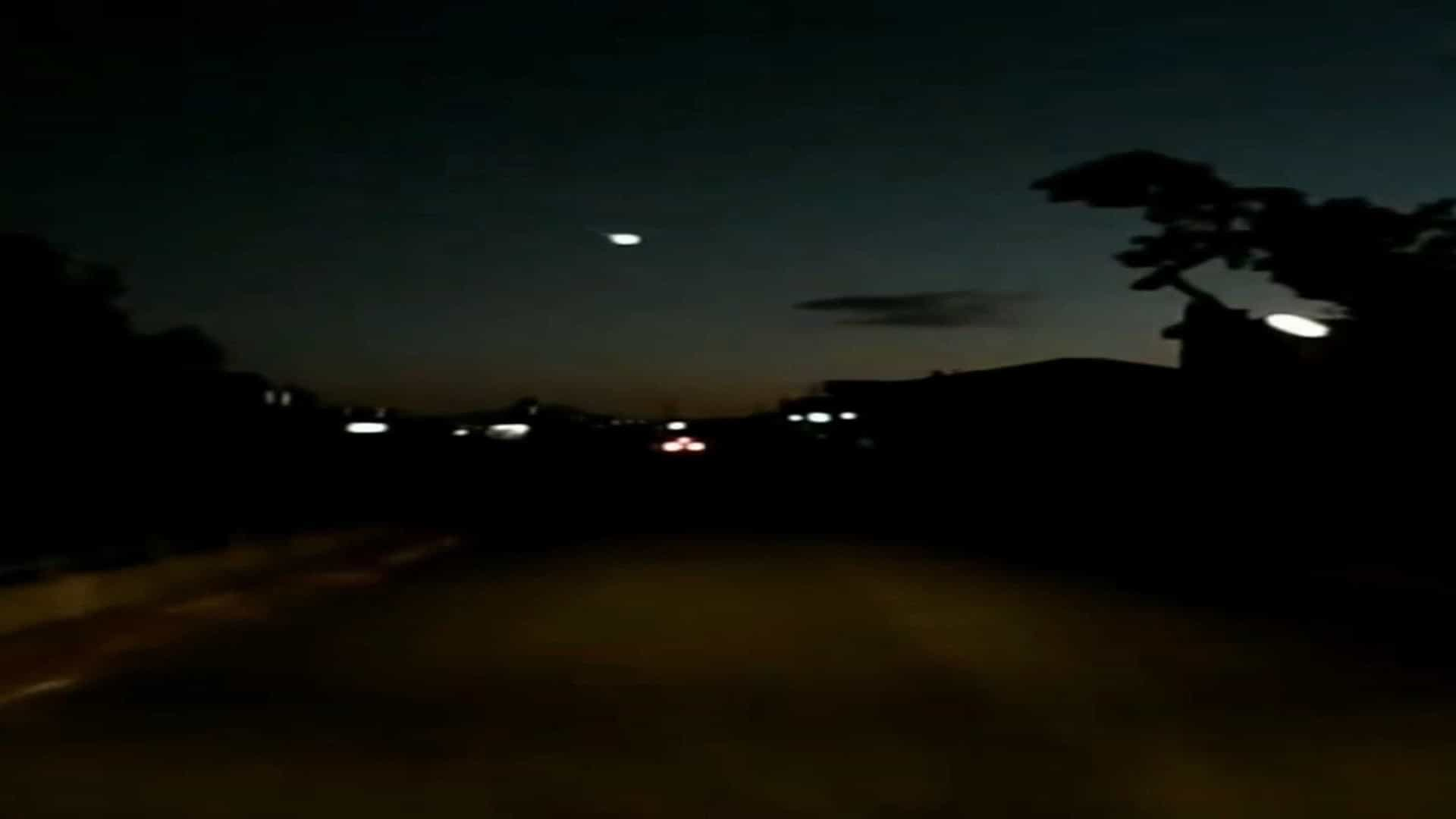 OVNI avistado no México intriga internautas