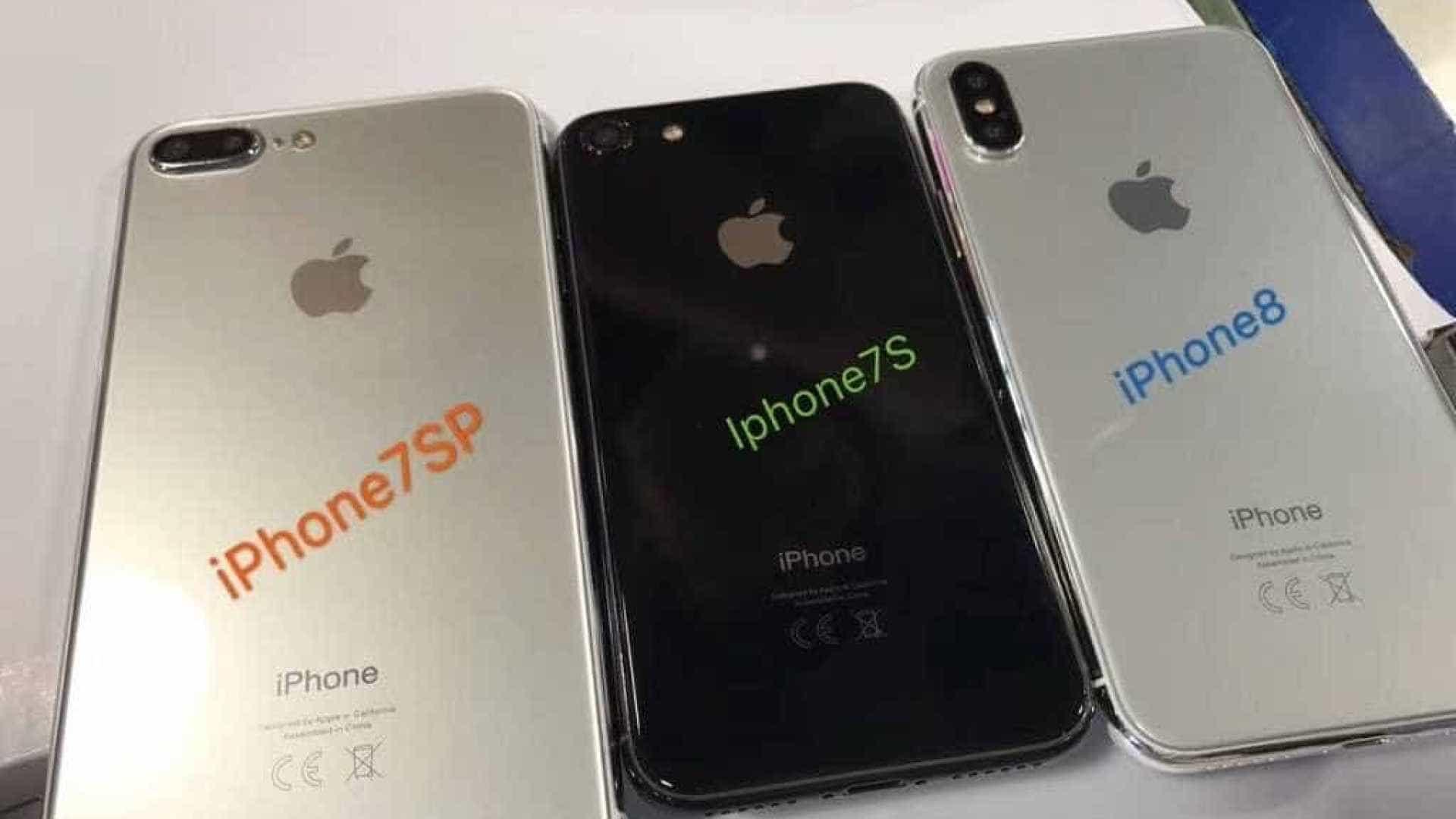 Suporto iPhone 7S aparece em imagem vazada com traseira de vidro