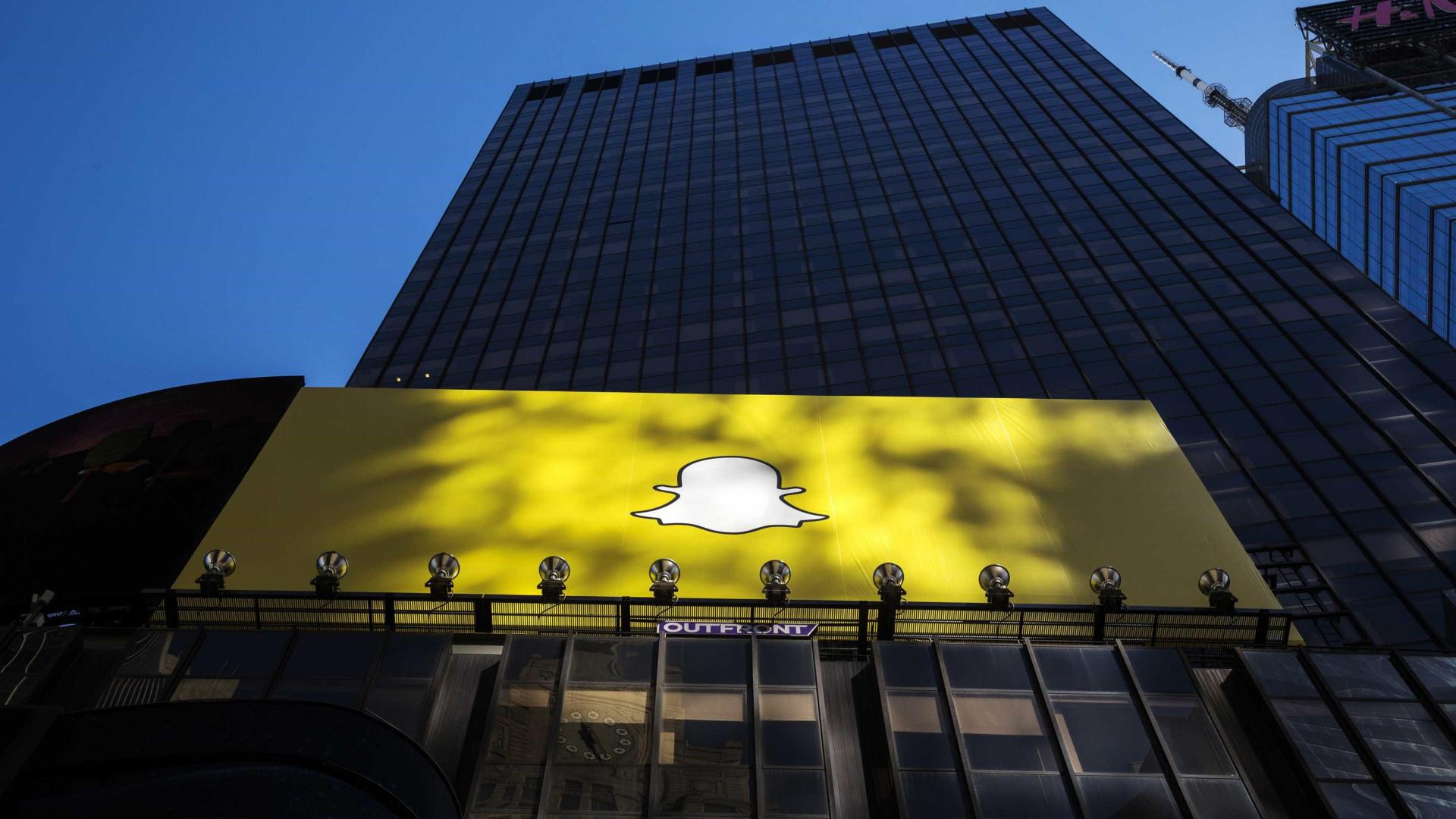 Novo balanço da Snap registra prejuízo de U$$ 443 milhões