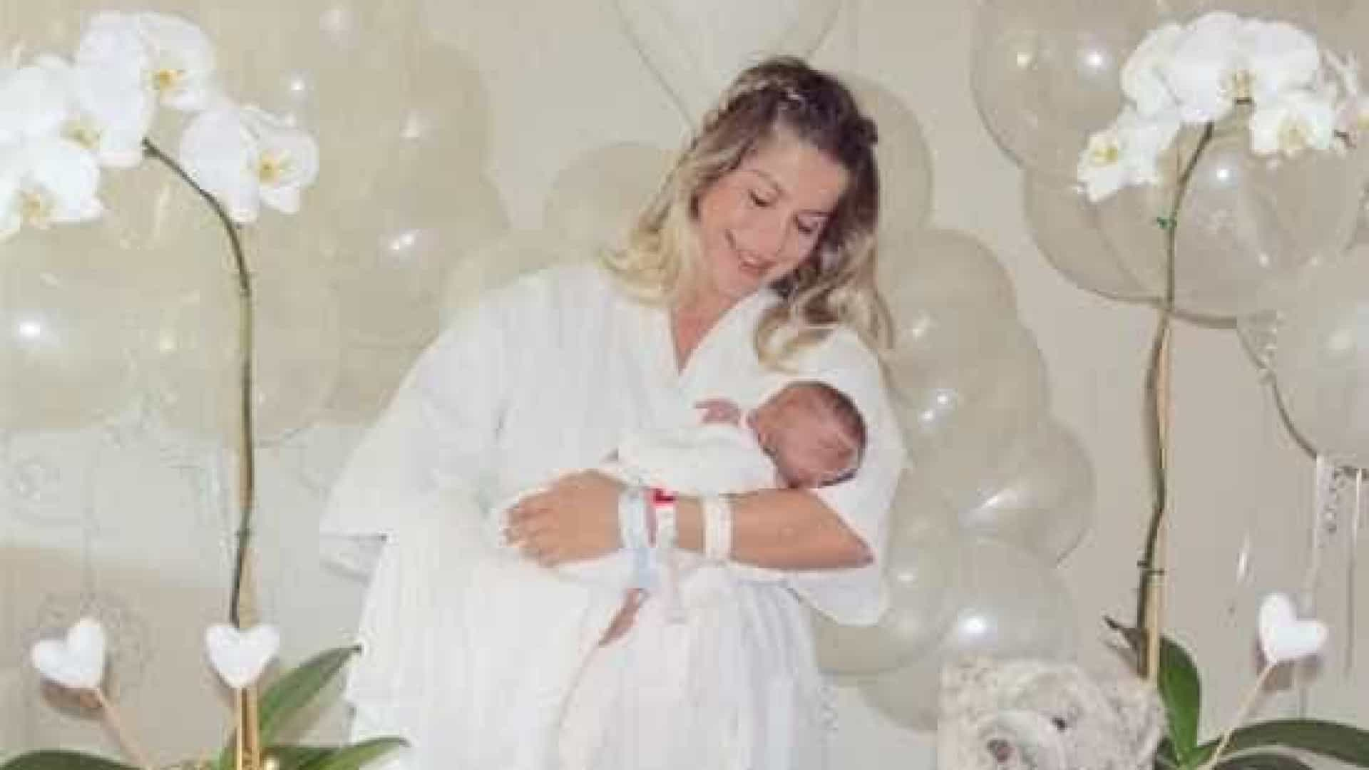 Nascido há 3 dias, filho de Bacchitem 140 mil seguidores no Instagram