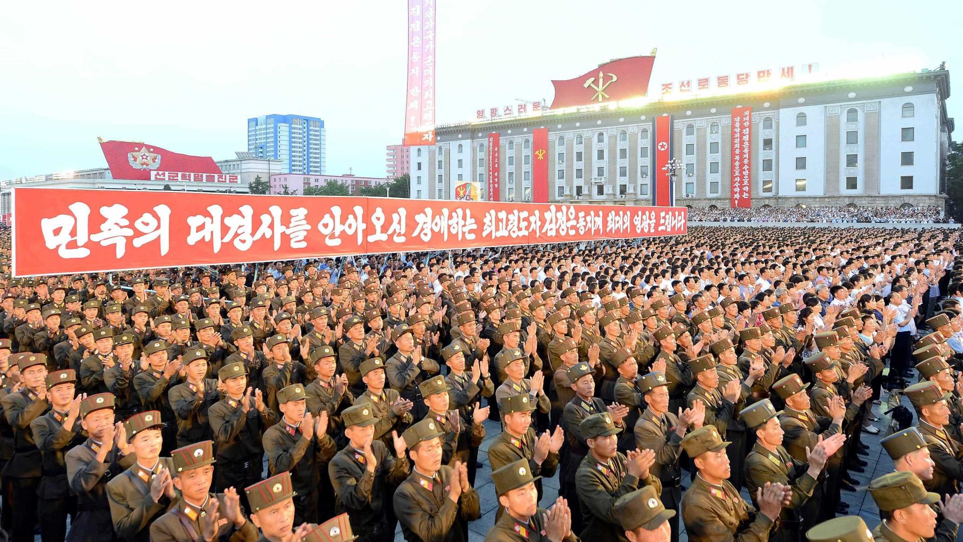 Mais de 3 mi de norte-coreanos se oferecem para o serviço militar