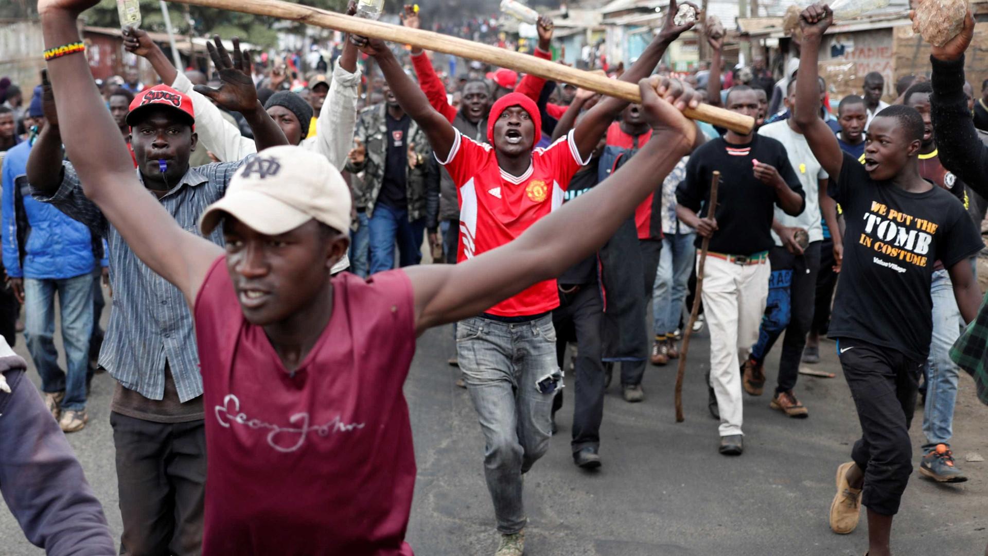Protestos no Quênia deixam mais de 20 mortos após eleição