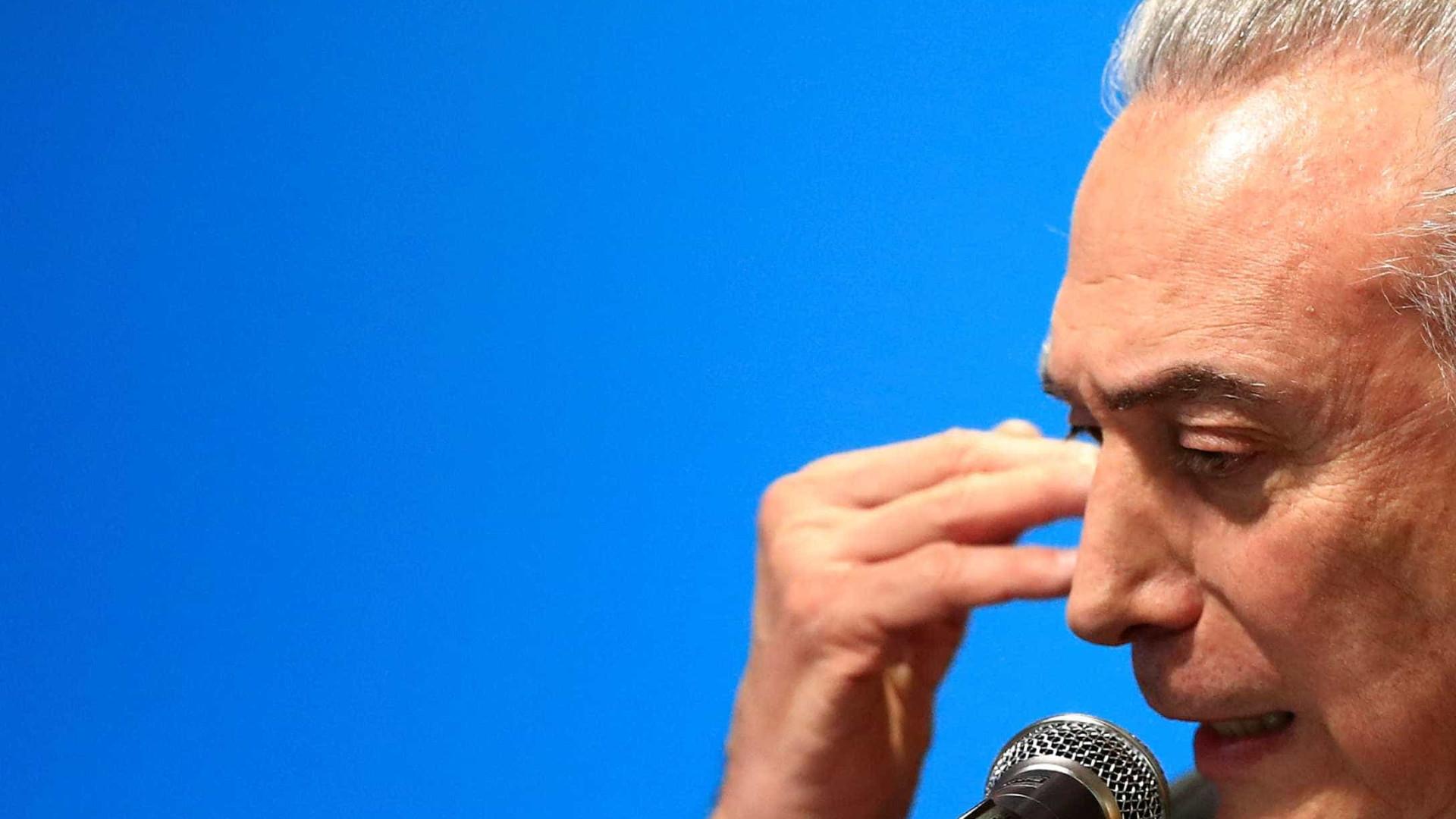 Planalto: Temer não participa de discussões sobre reforma política
