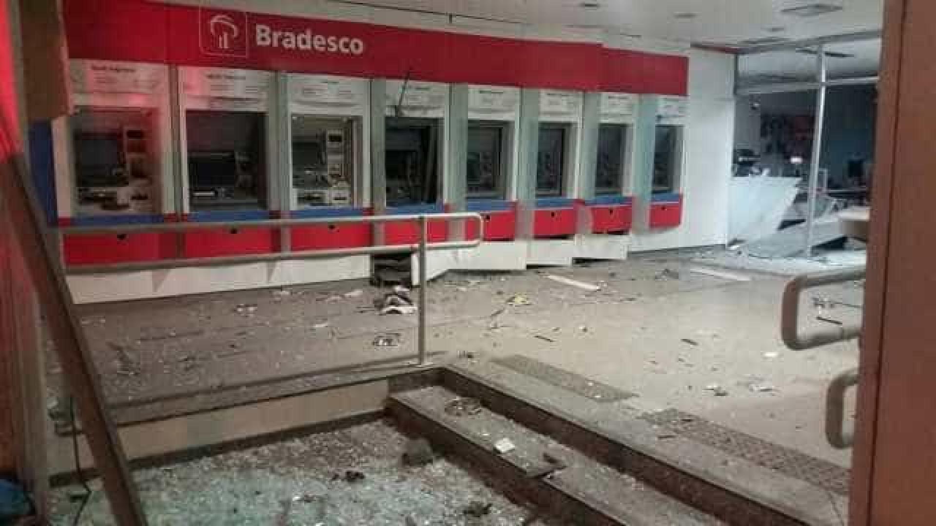 Criminosos explodem agência bancária na Zona Norte do Rio