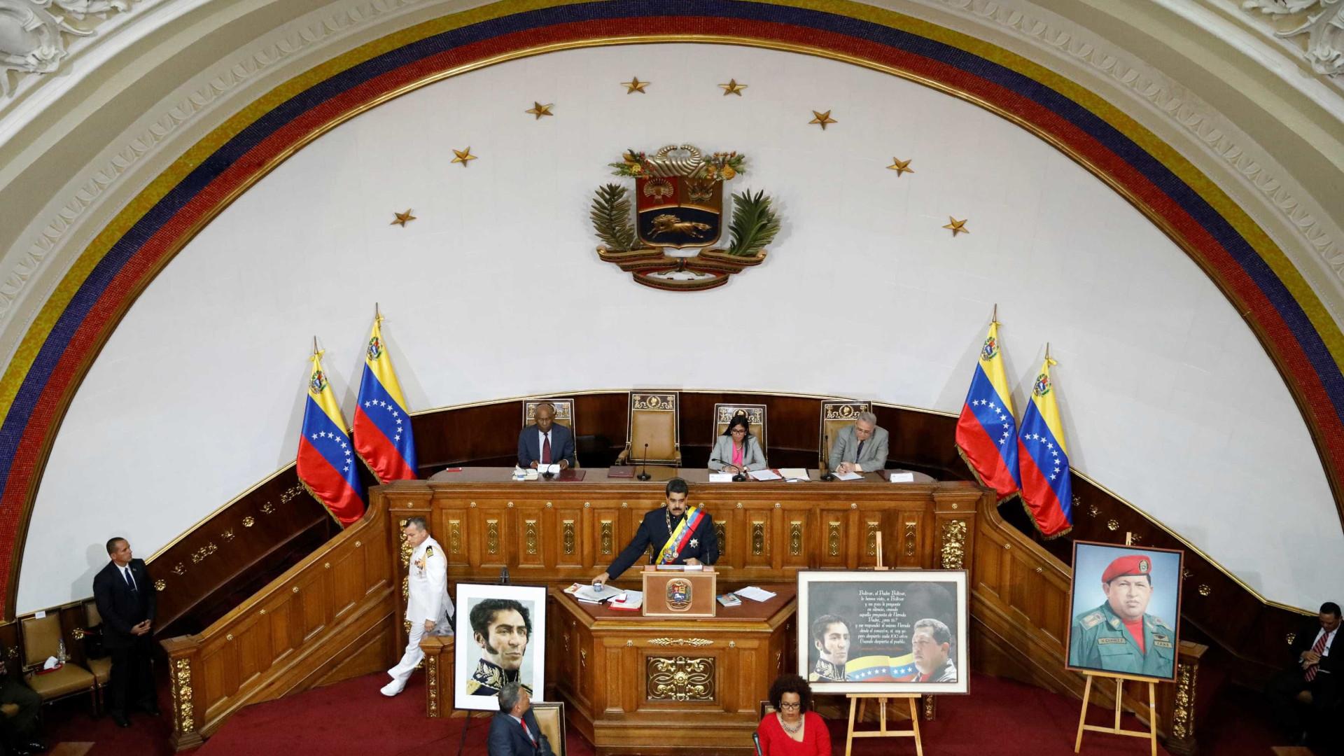 Constituinte chavista antecipa eleições regionais na Venezuela