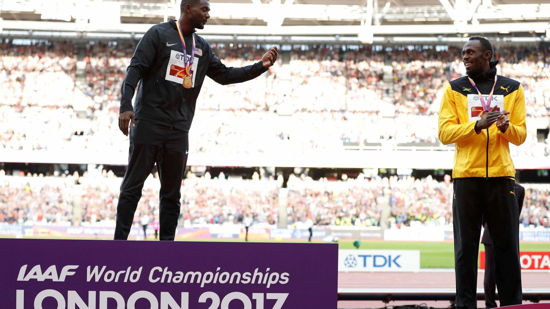 Bolt lesiona-se na última corrida da carreira