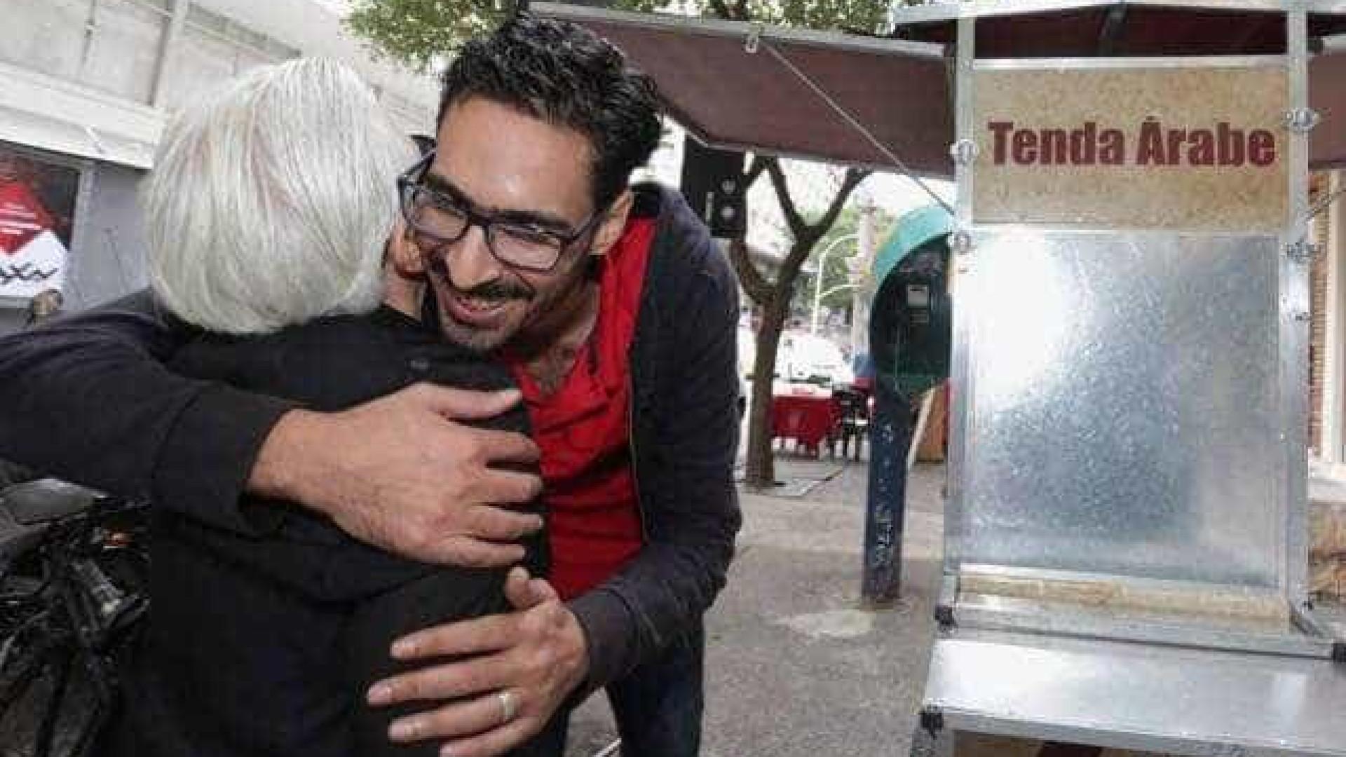 Sírio que sofreu xenofobia agora quer food truck