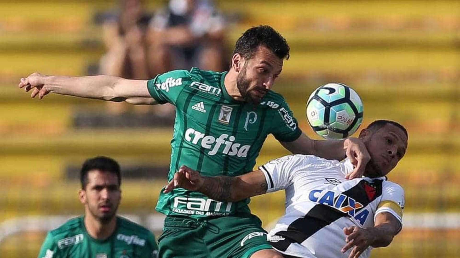 Após eliminação na Libertadores, Palmeiras empata com o Vasco