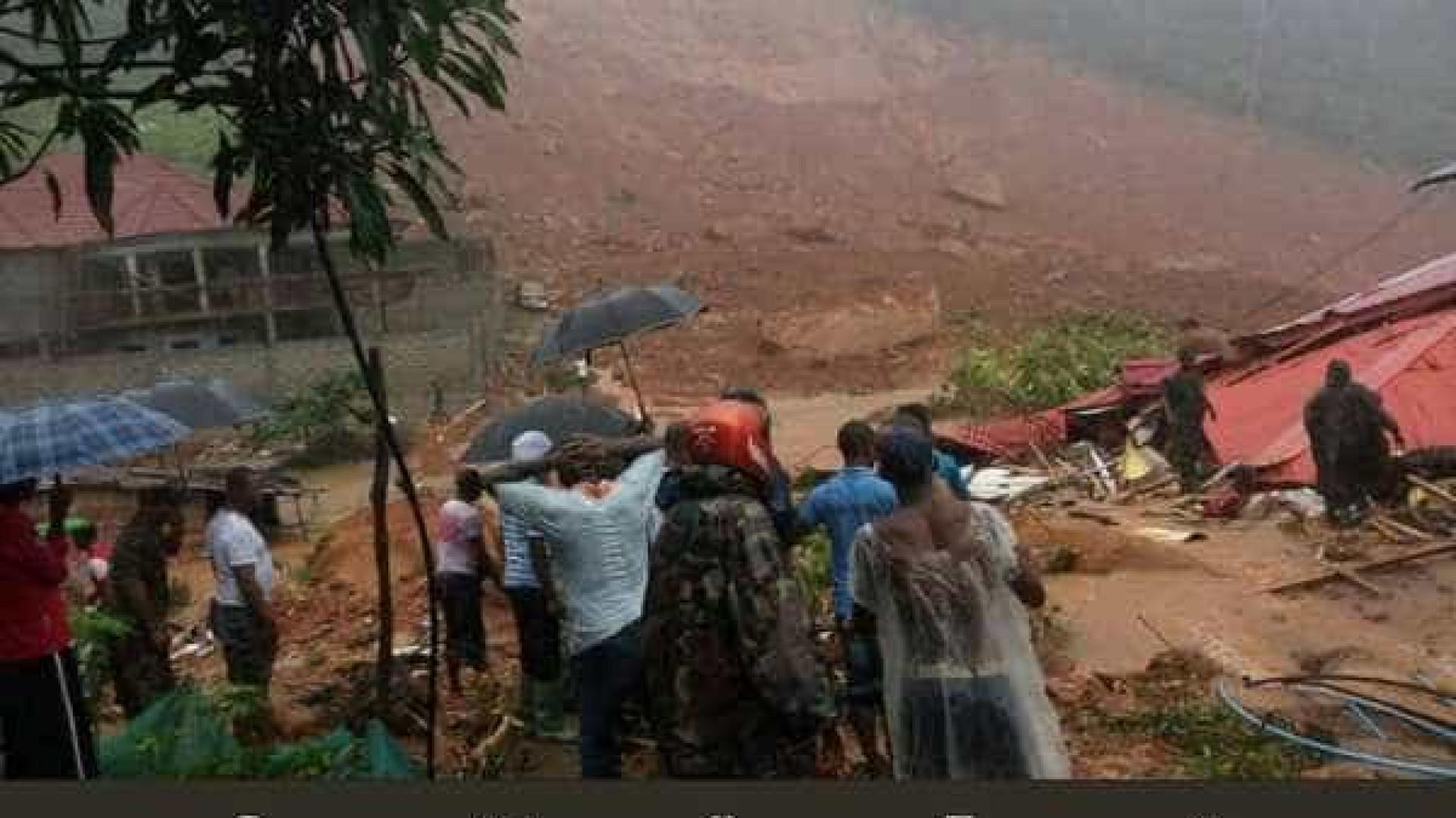 ONU avalia ajuda para Serra Leoa após inundações