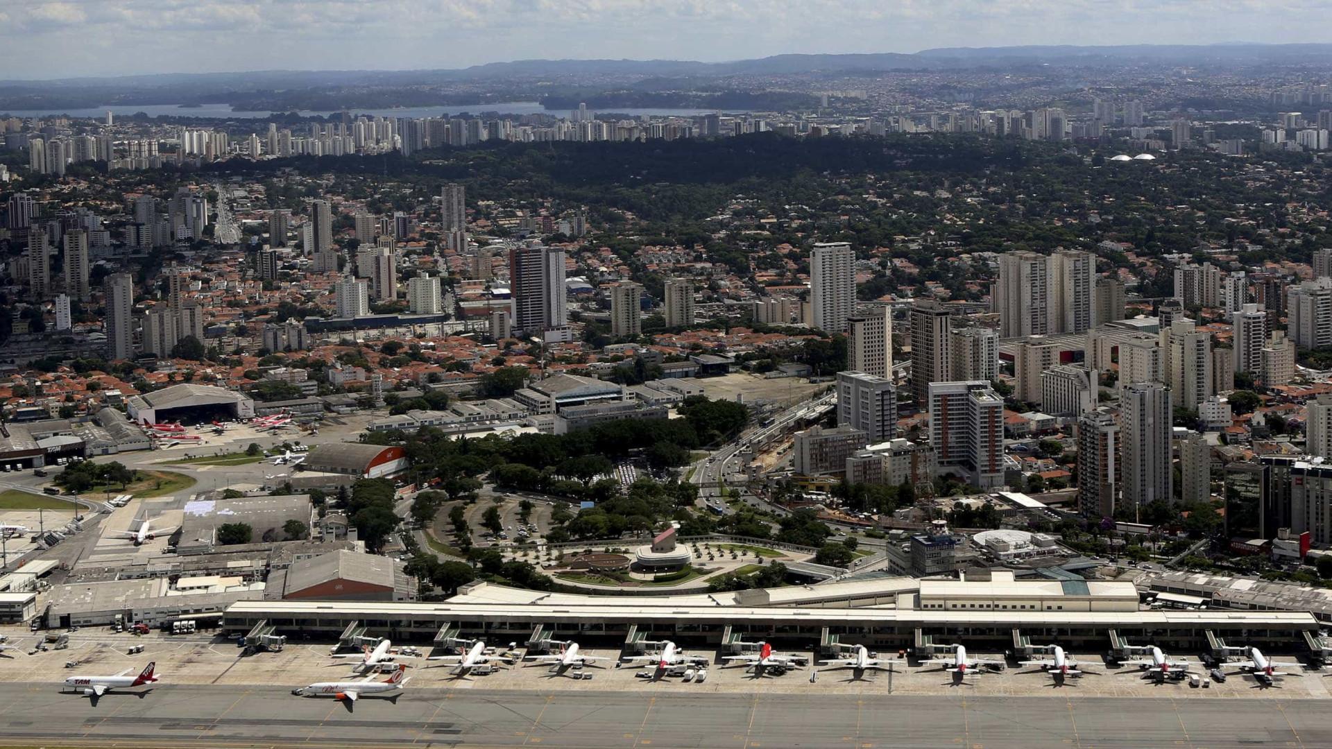 Drone fecha aeroporto de Congonhas e afeta Flamengo e São Paulo