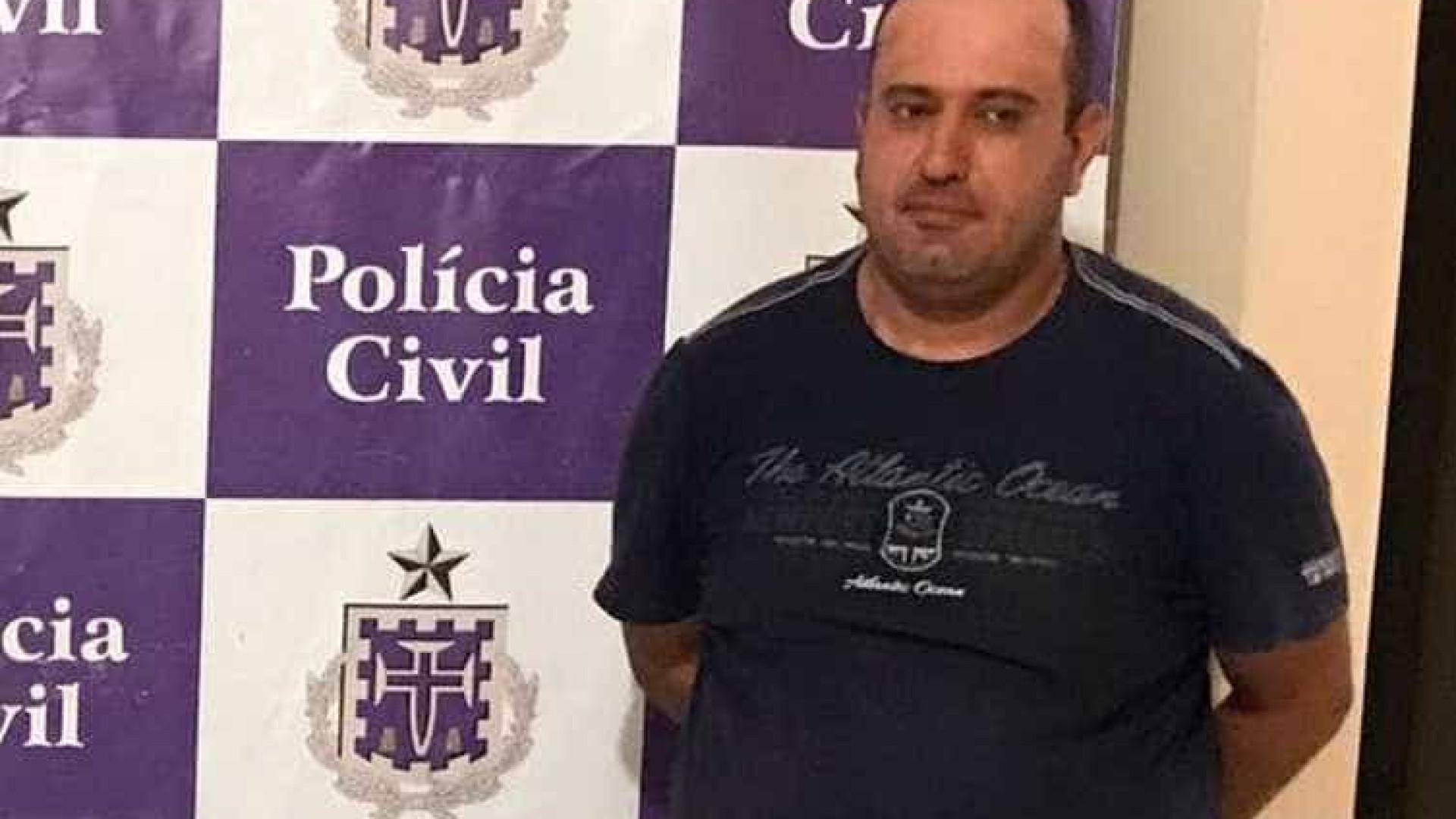 Traficante investigado por assalto ao Banco Central é preso na Bahia